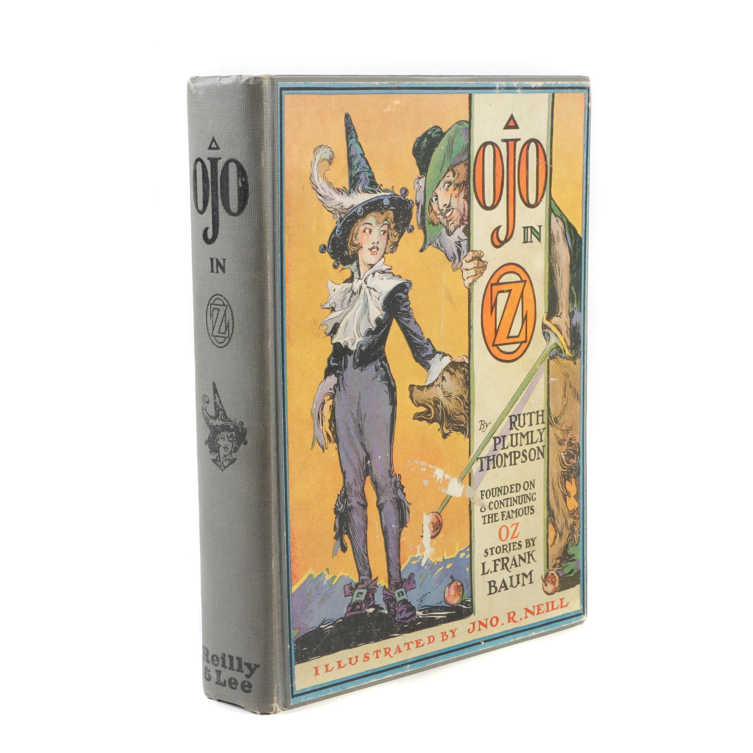 """1933 First Printing """"Ojo in Oz"""" by Ruth Plumly Thompson"""
