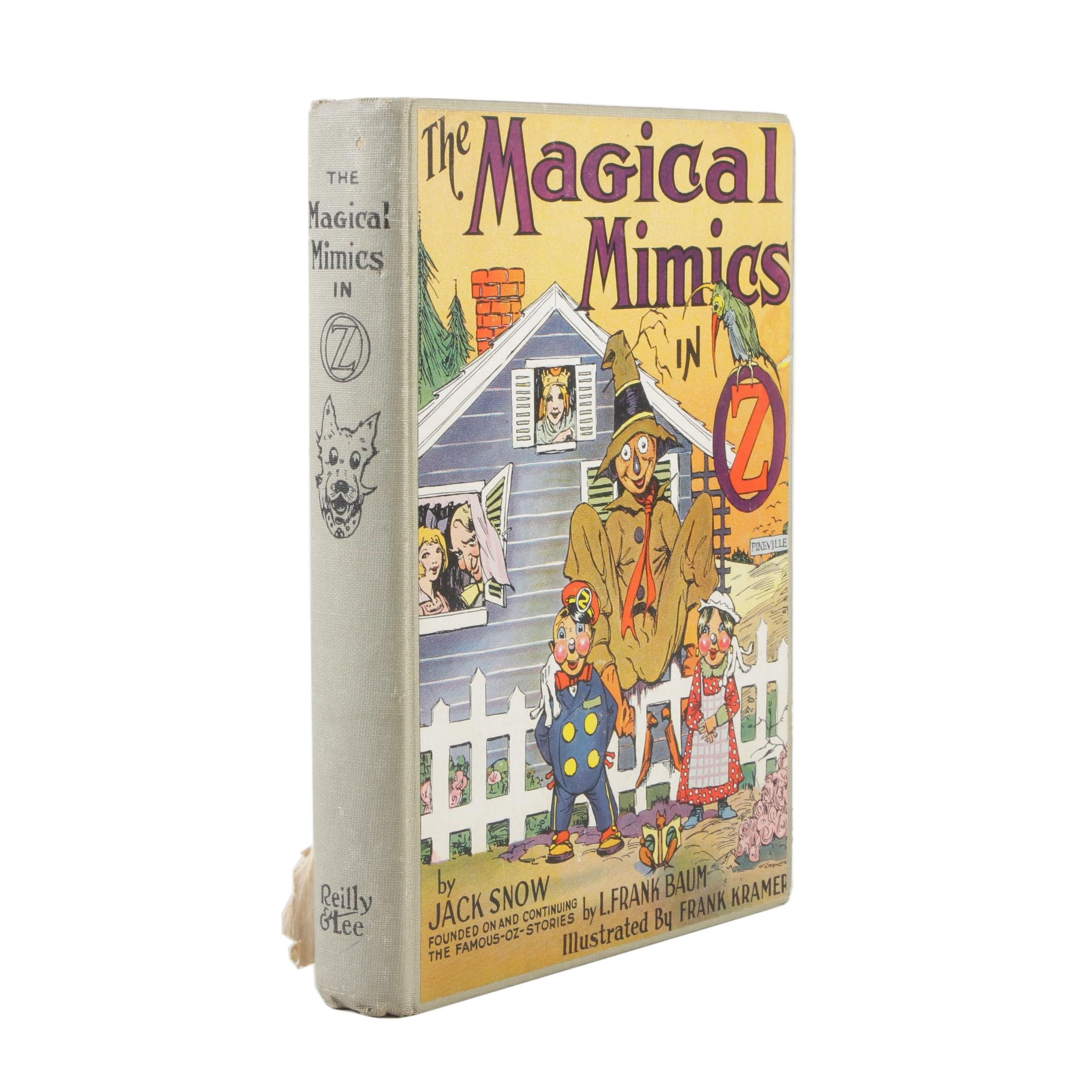 """1946 First Printing """"The Magical Mimics in Oz"""" by Jack Snow"""
