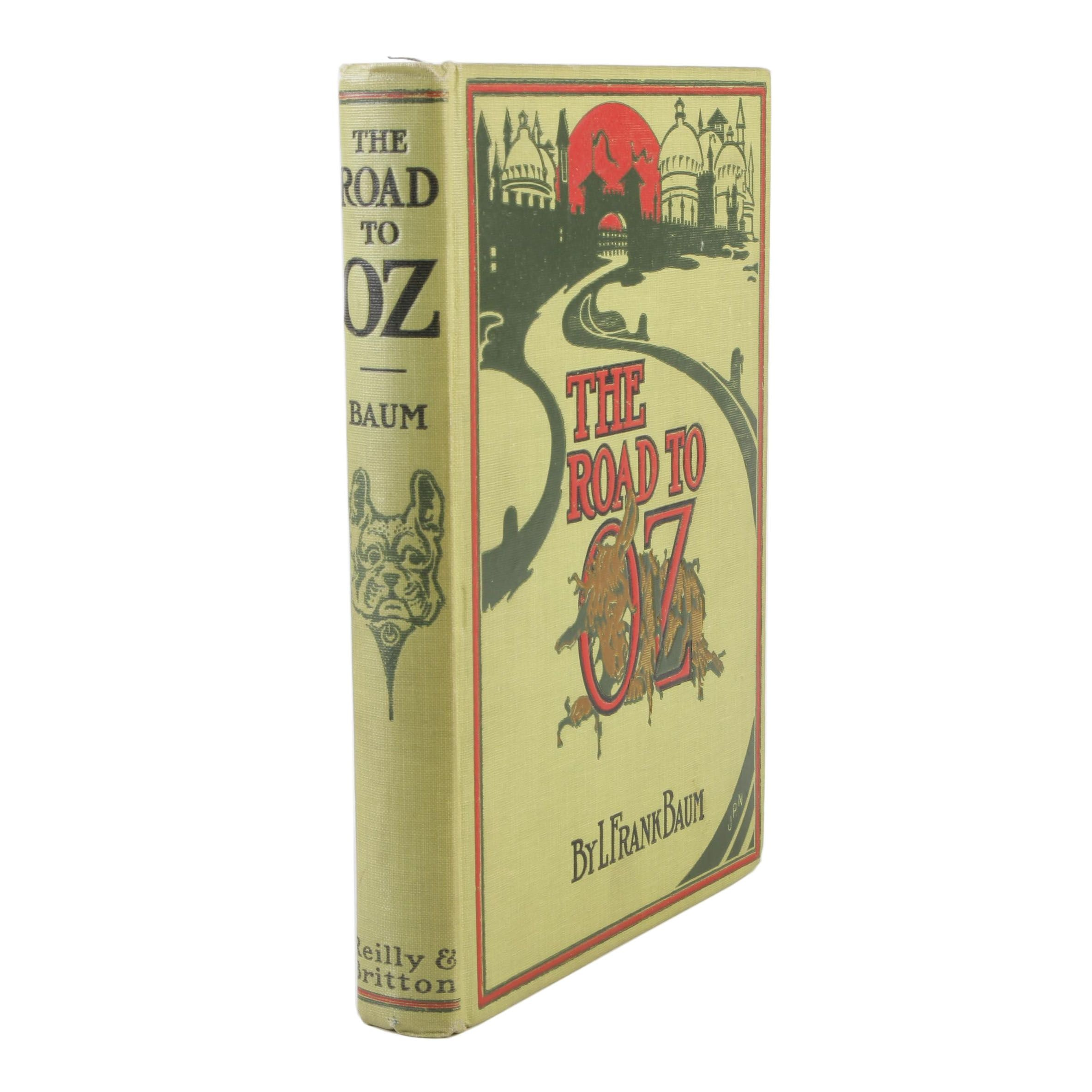 """1917 """"The Road to Oz"""" by L. Frank Baum"""