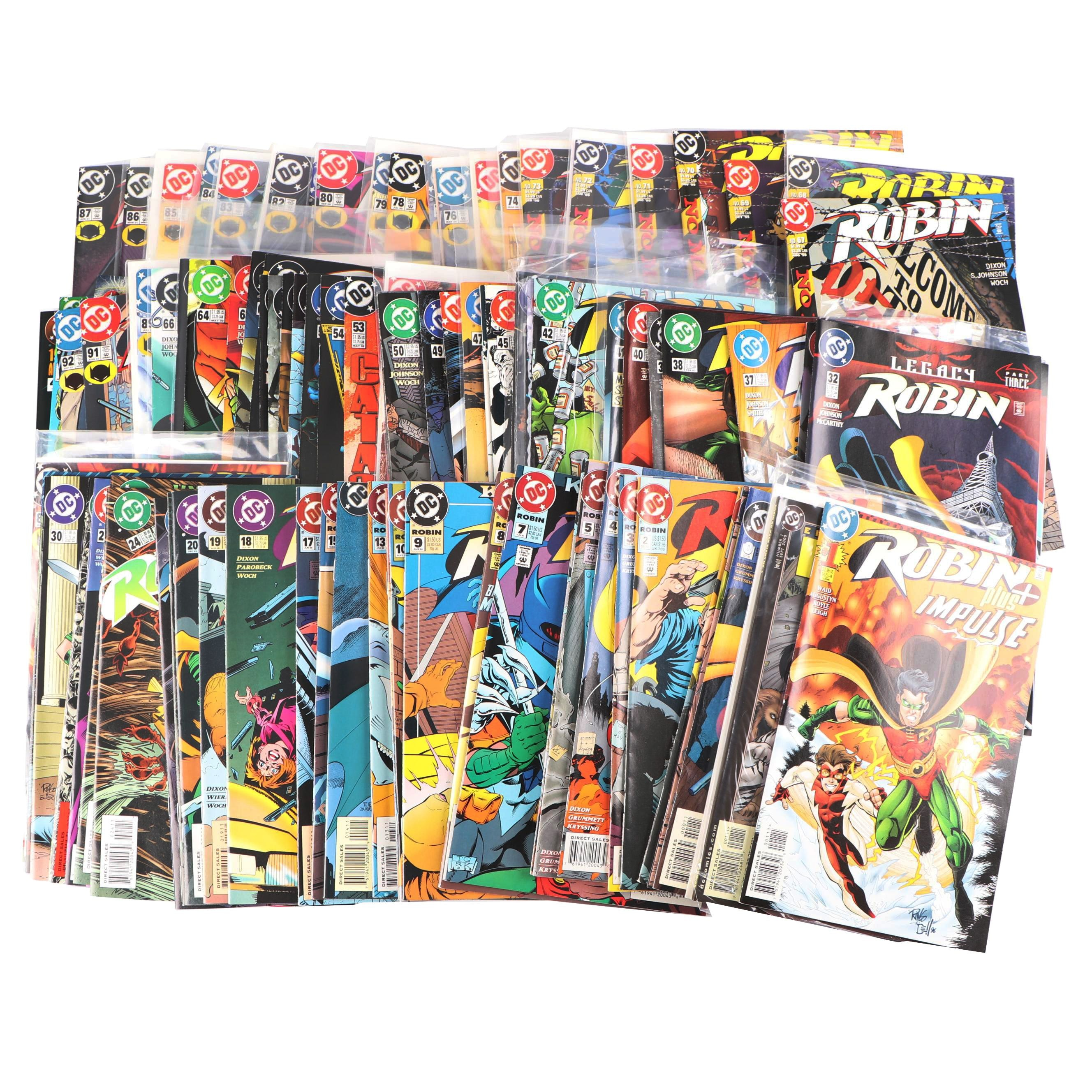 "Modern Age DC Comics ""Robin"" Comic Books"