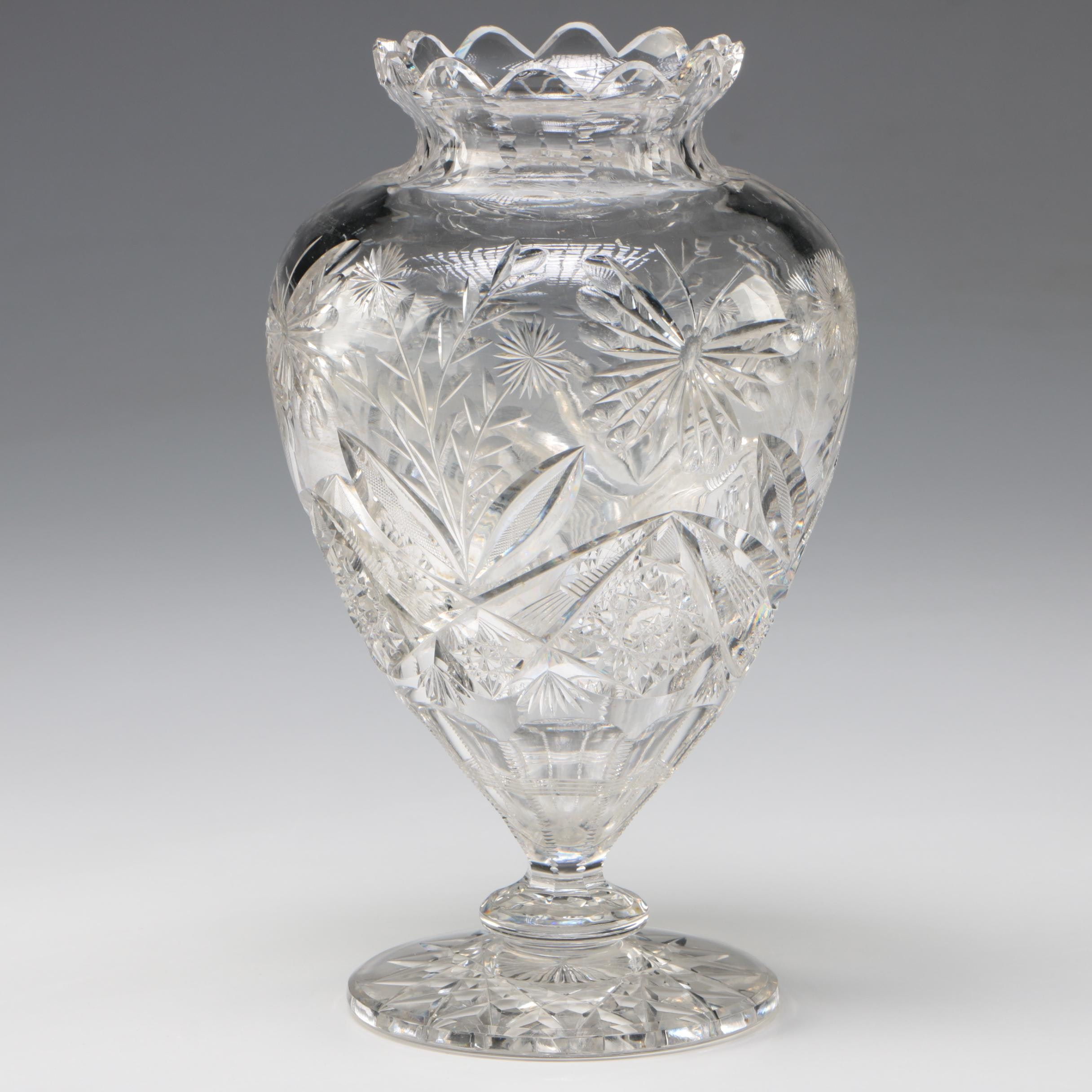 American Brilliant Cut Glass, Late 19th/Early 20th Century