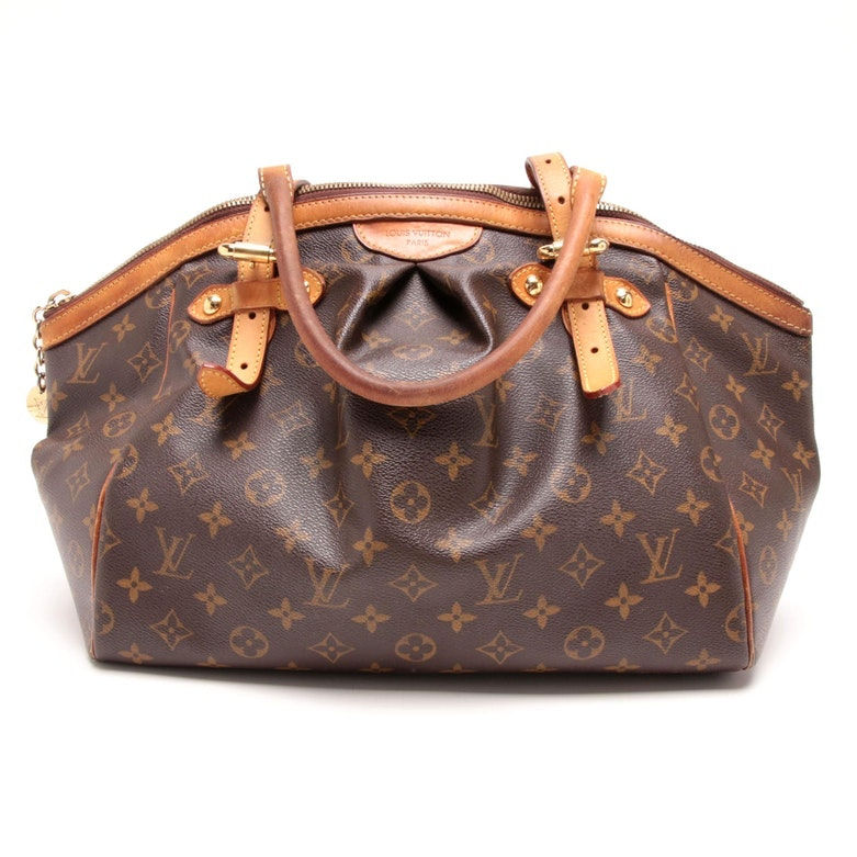 Louis Vuitton Paris Monogram Canvas Tivoli Satchel