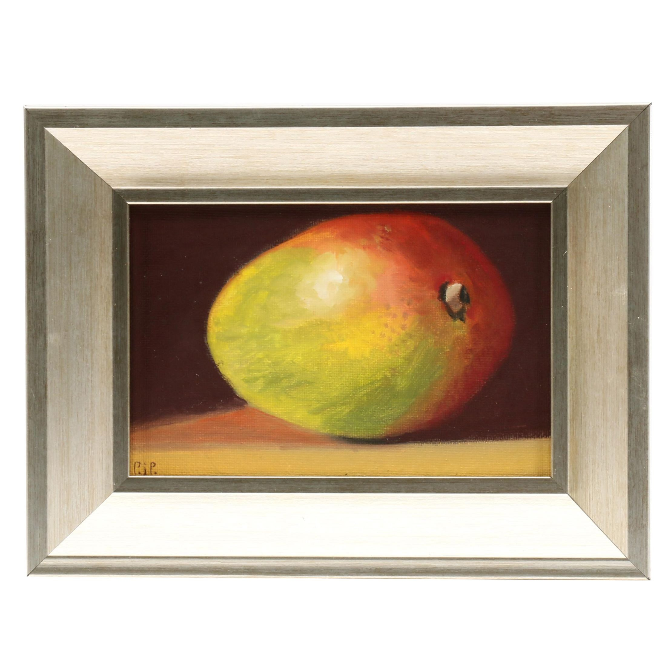 "Patricia J. Powers Oil Painting ""Mango"""