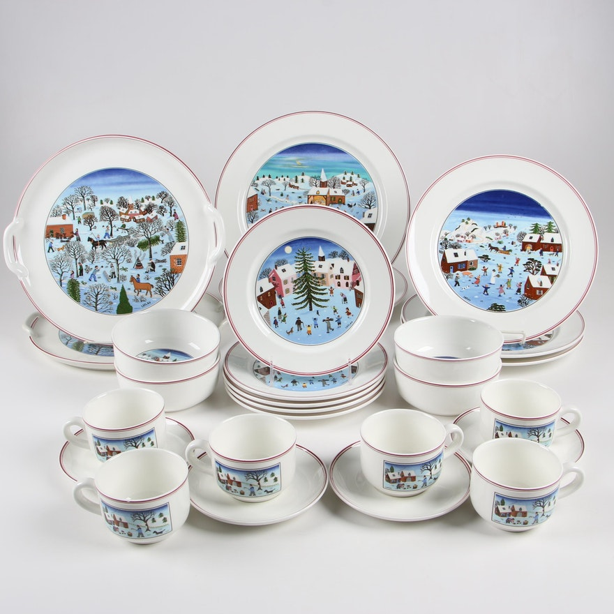 "Villeroy & Boch ""Naïf Christmas"" Porcelain Dinnerware ..."