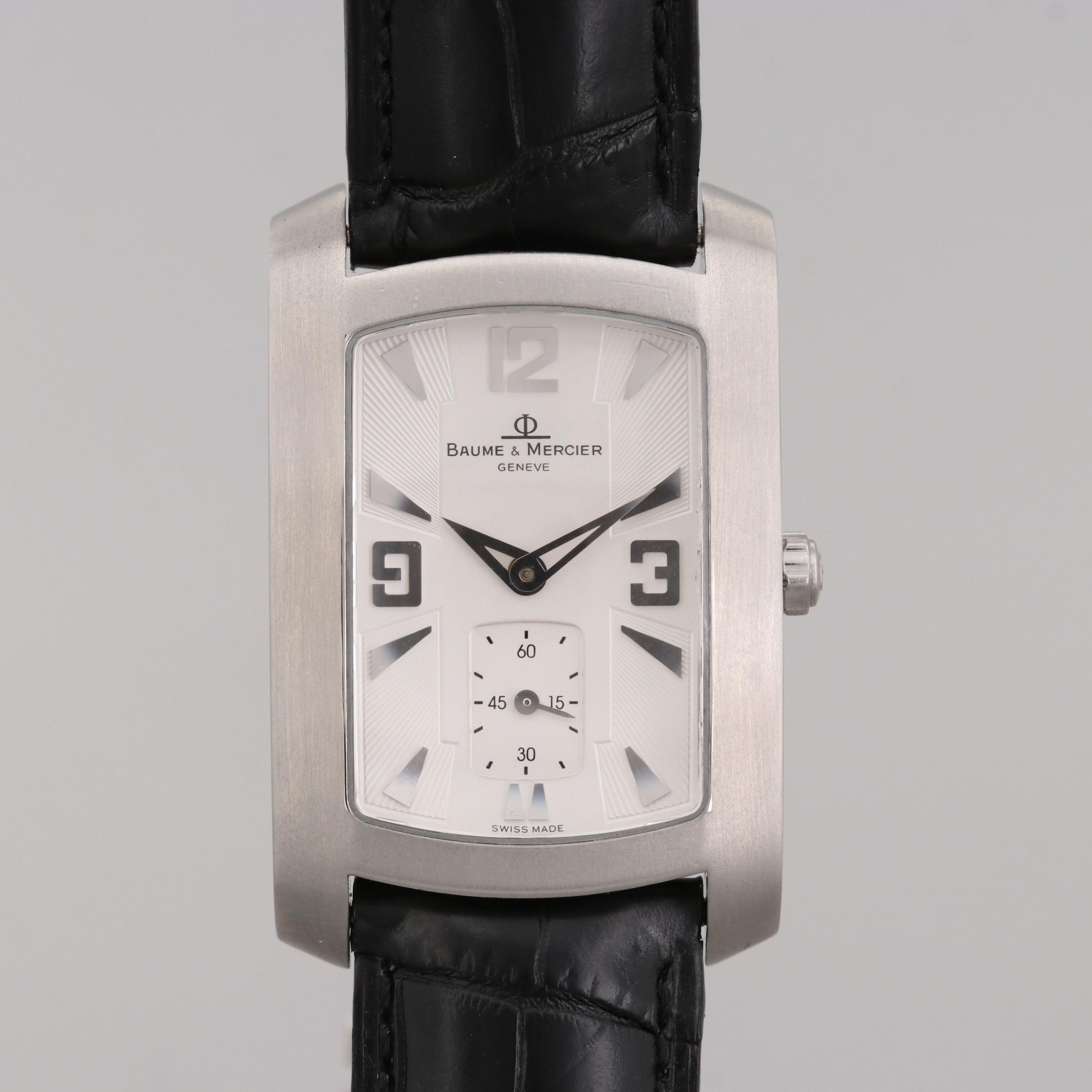 Baume & Mercier Hampton Milleis Stainless Steel Wristwatch