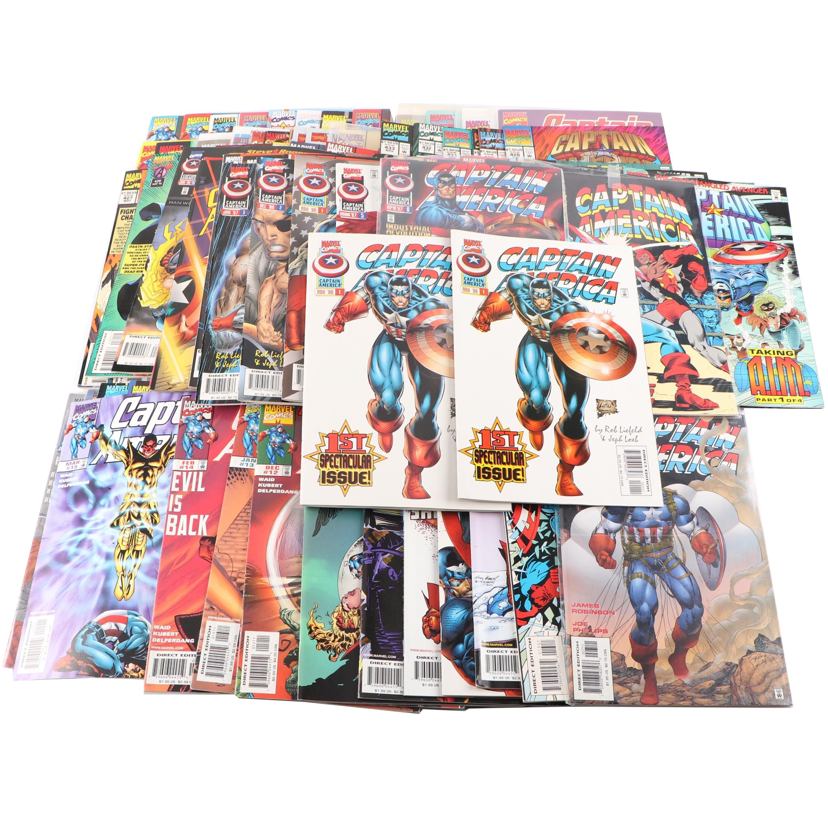 "Modern Age ""Captain America"" Comic Books"