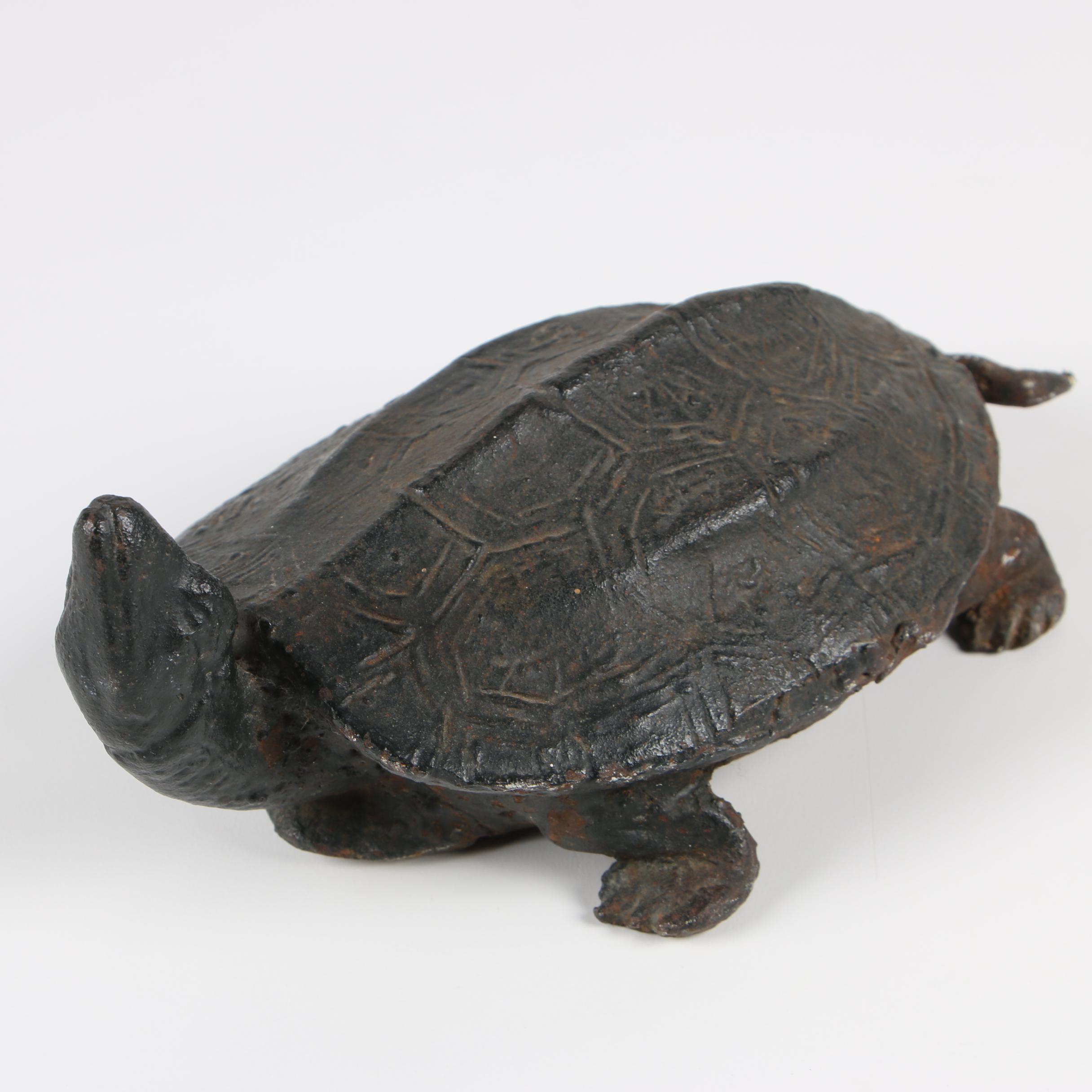 Cast Iron Turtle Doorstop