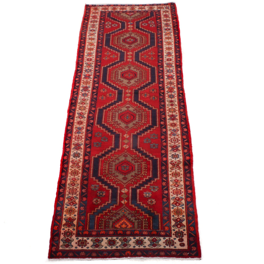 Hand-Knotted Northwest Persian Runner