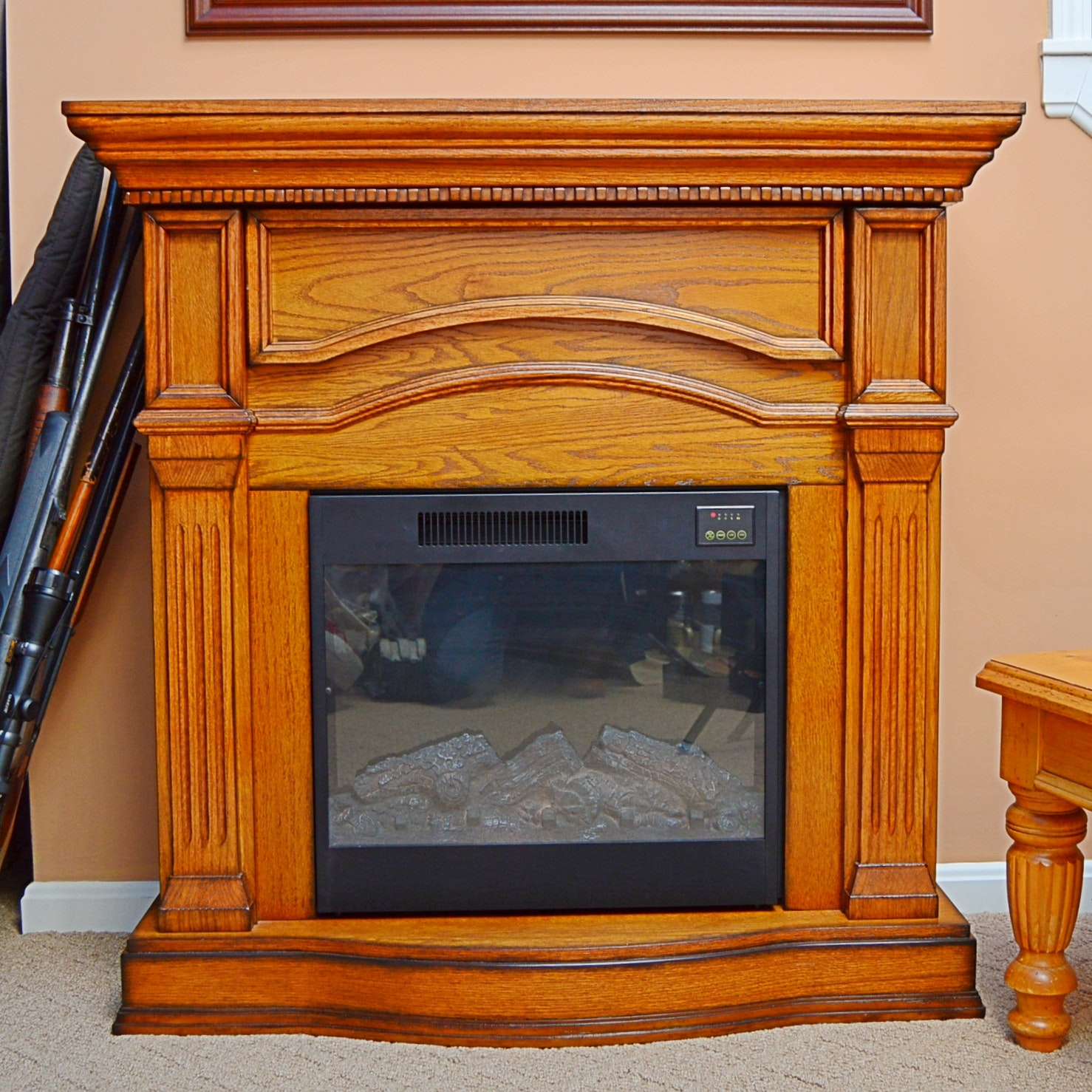Great World Electric Fireplace