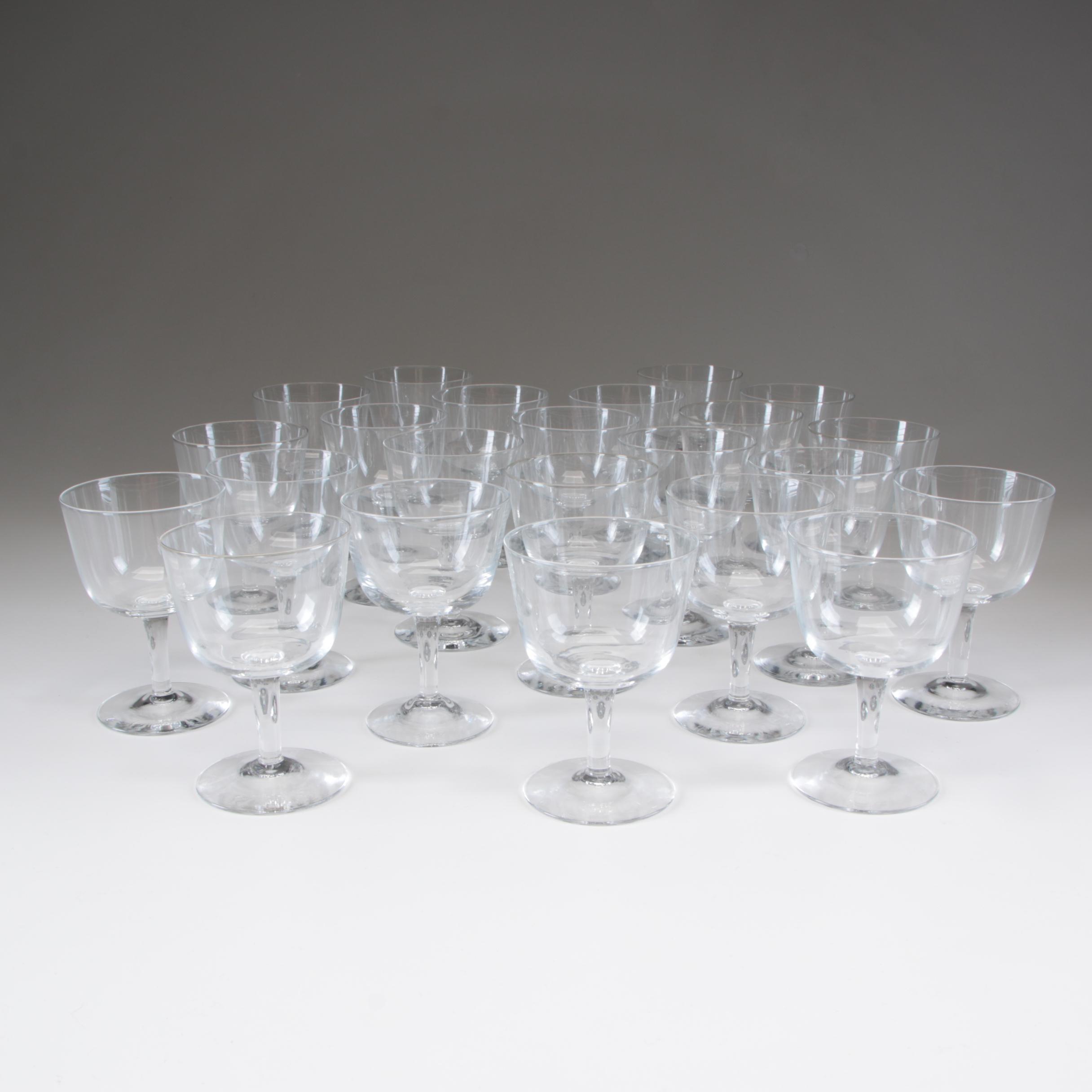 Crystal Cordial Glasses