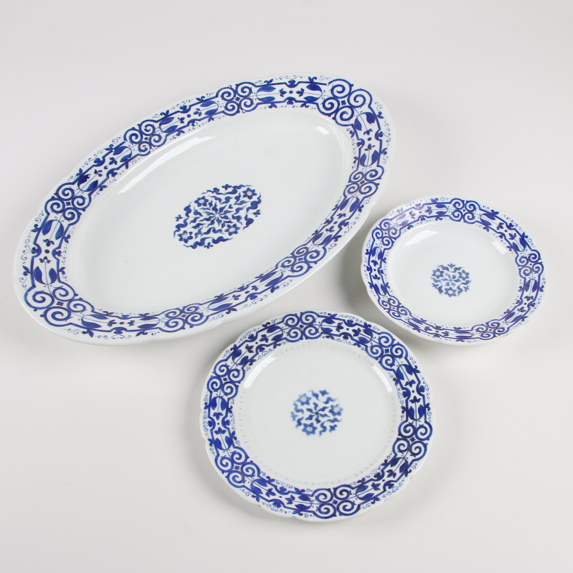 Fischer & Mieg  Porcelain Tableware