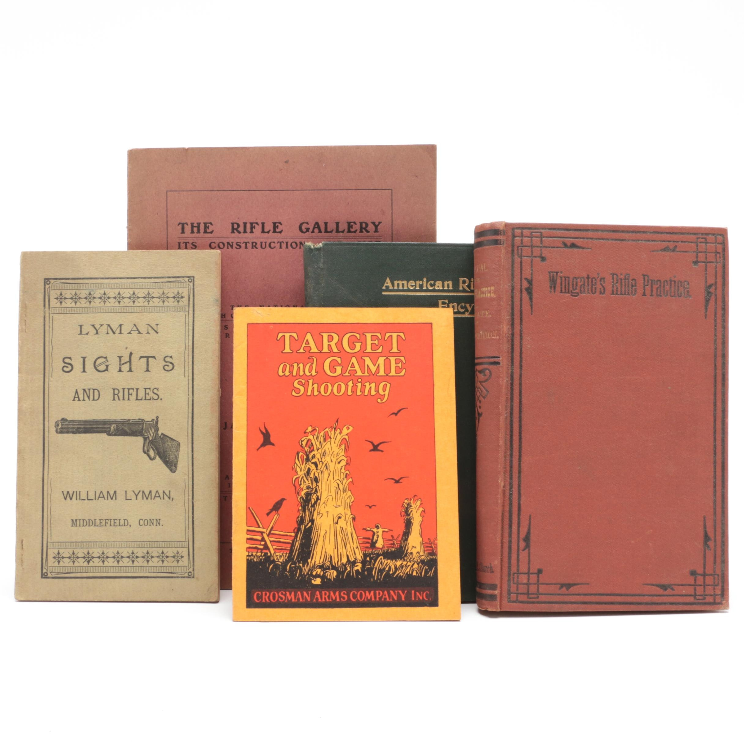 Antique Rifle Instructional Books and Manuals, Circa 1875-1900s