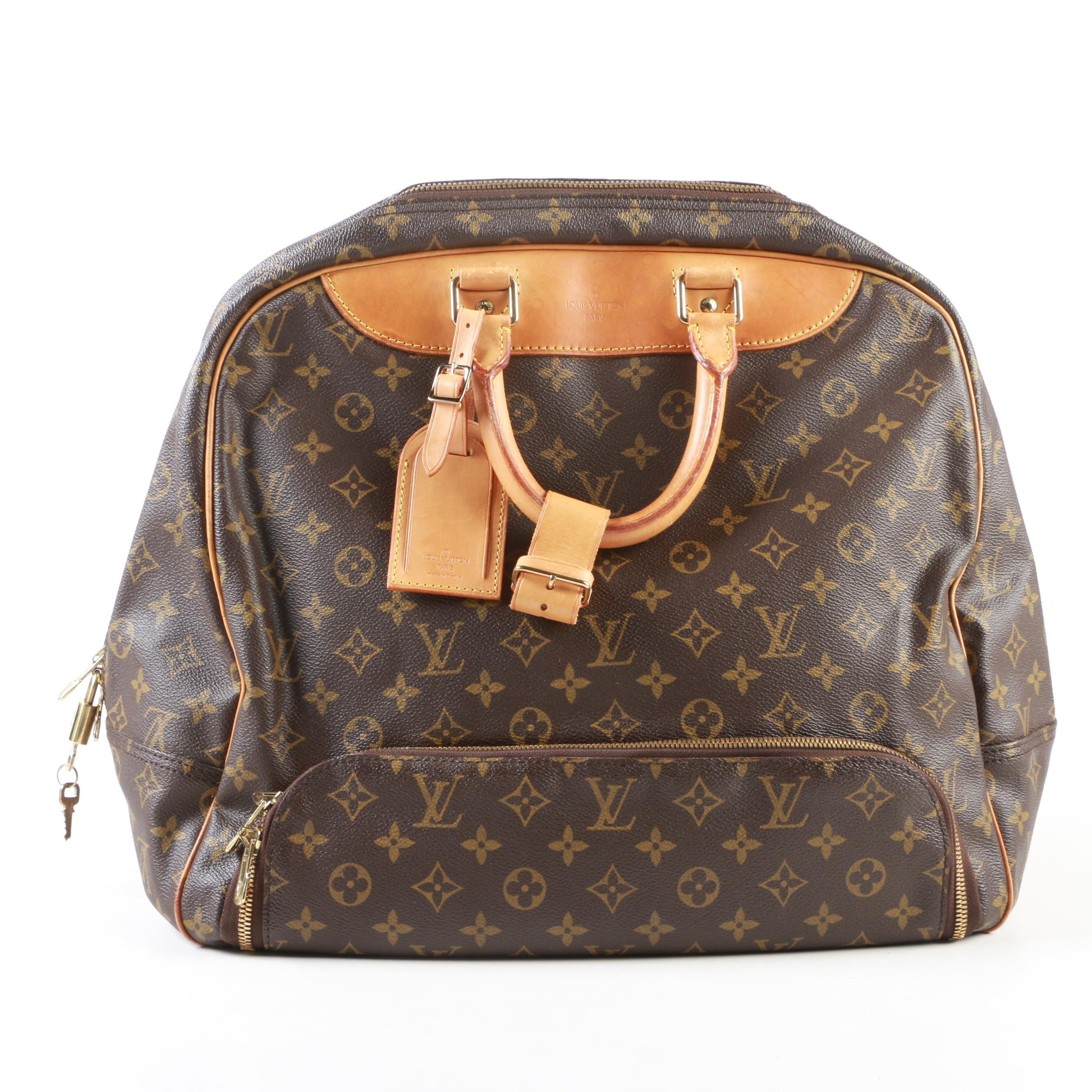 Louis Vuitton Paris Evasion Travel Bag in Monogram Canvas