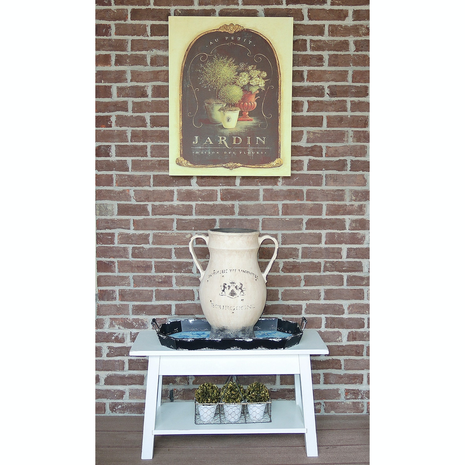 Outdoor Patio Decor and Accent Table