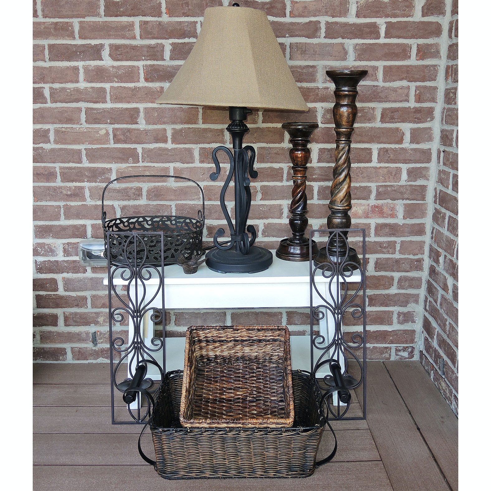 Outdoor Table Lamp and Patio Decor