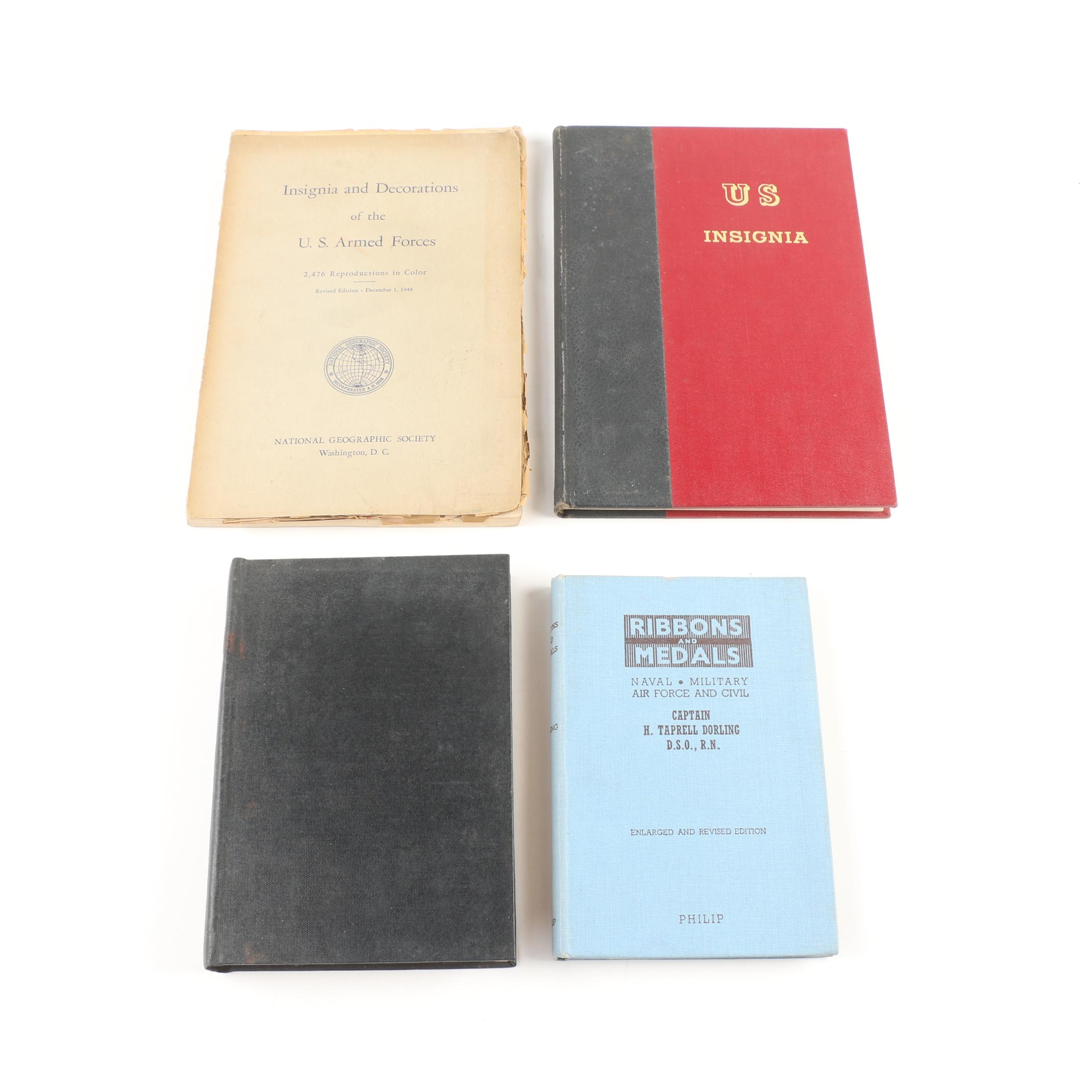 Books on American and British Military Medals and Insignia
