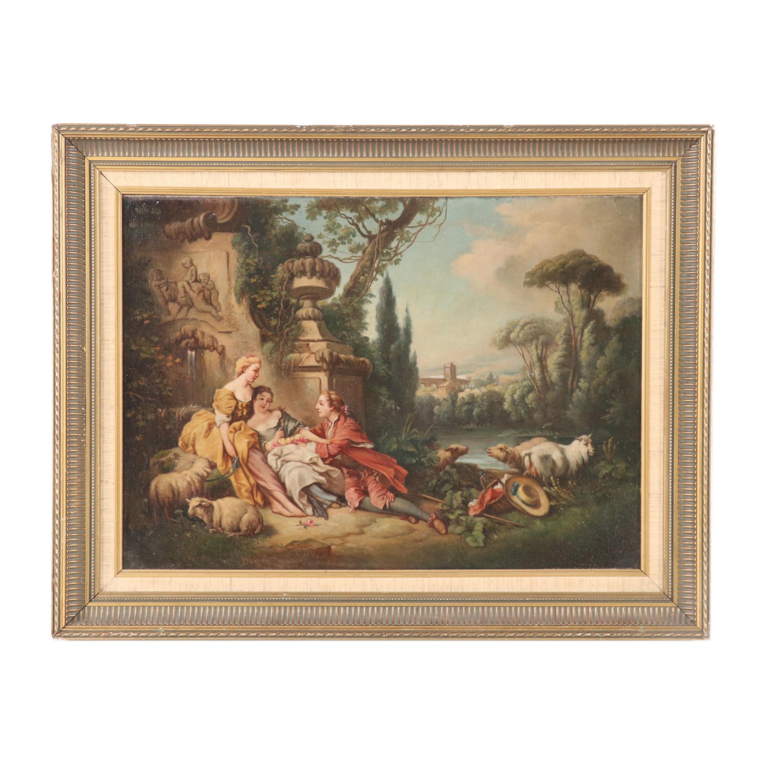 Copy Oil Painting after Francois Boucher