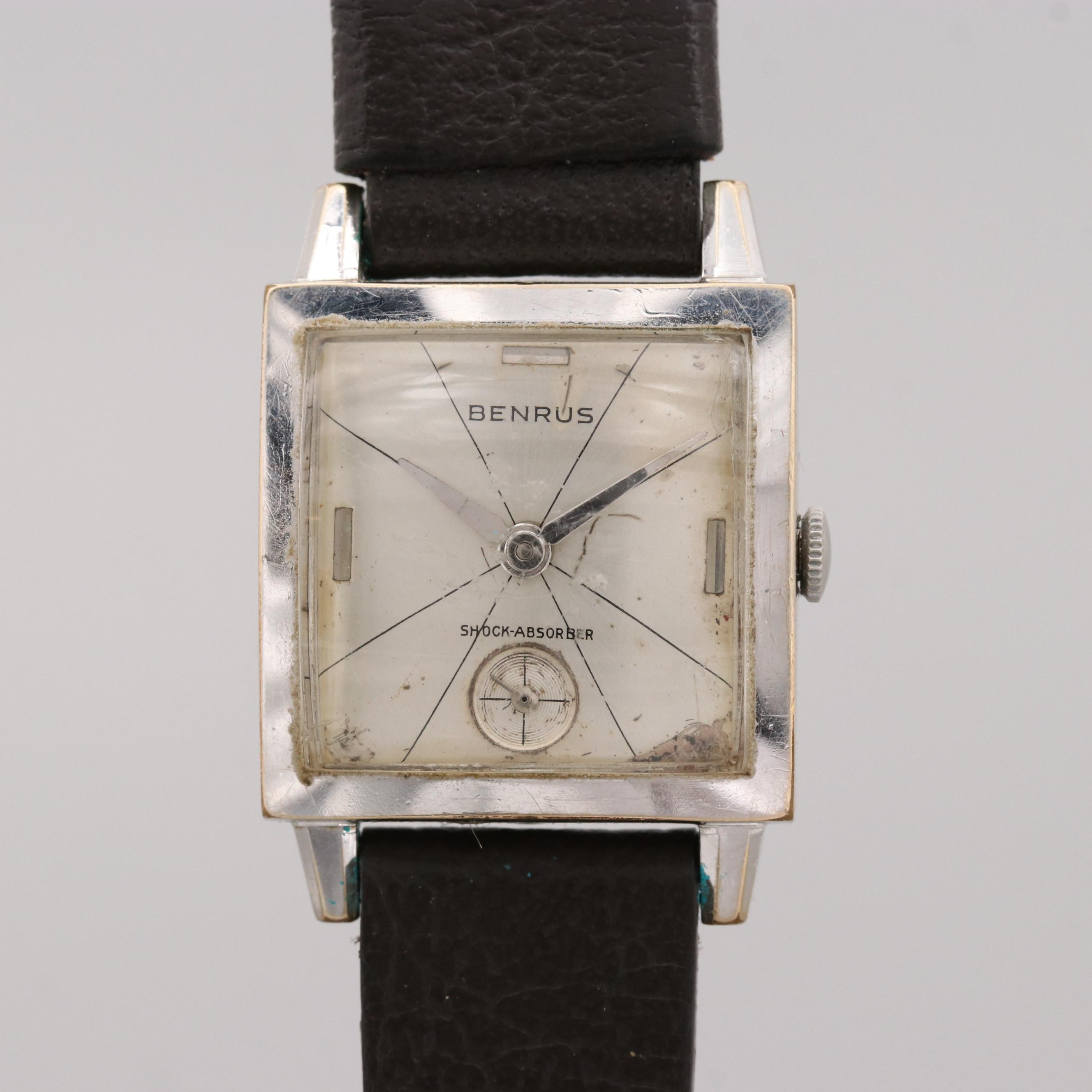 Vintage Benrus Stem Wind Wristwatch
