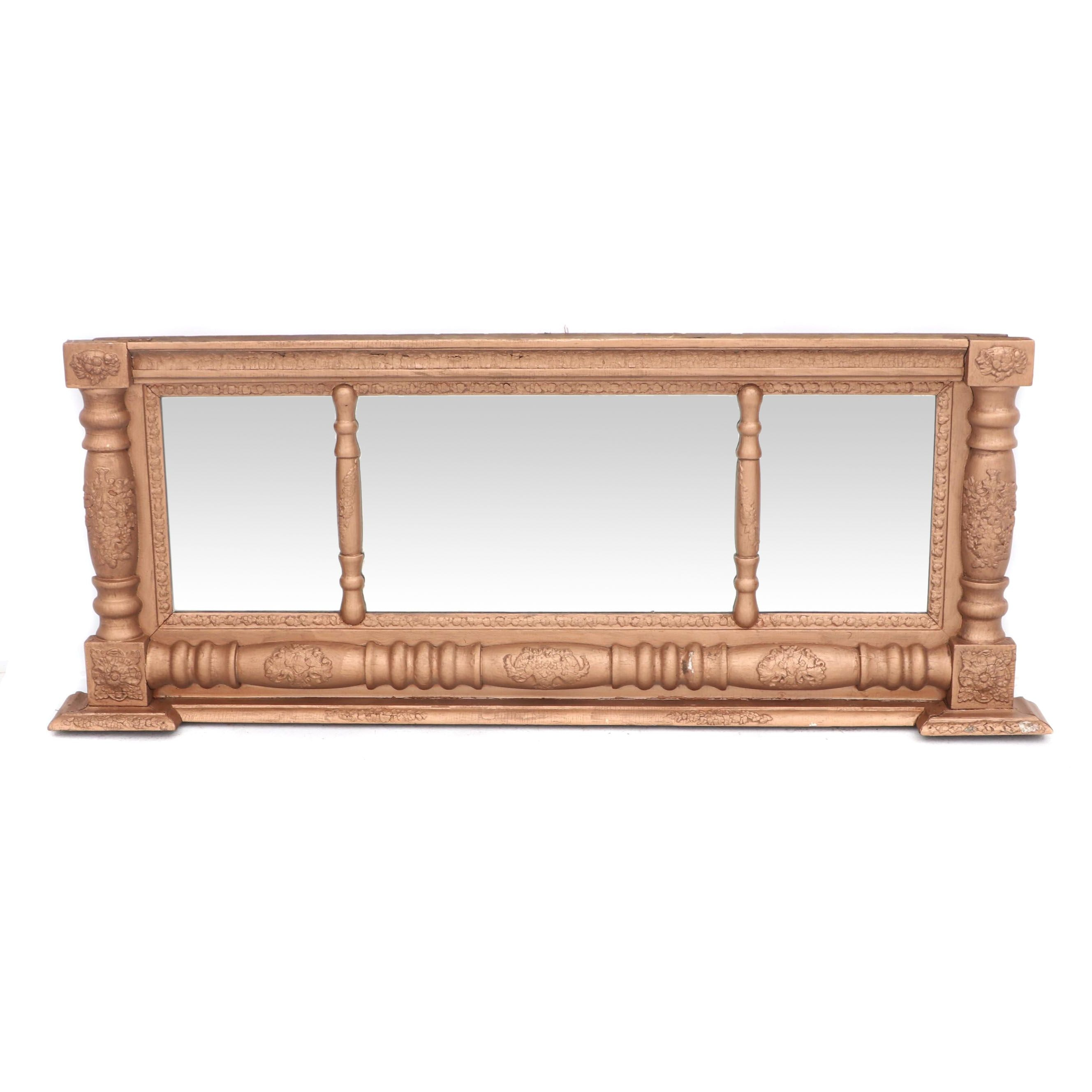 Federal Giltwood Mantel Mirror, Early 19th Century