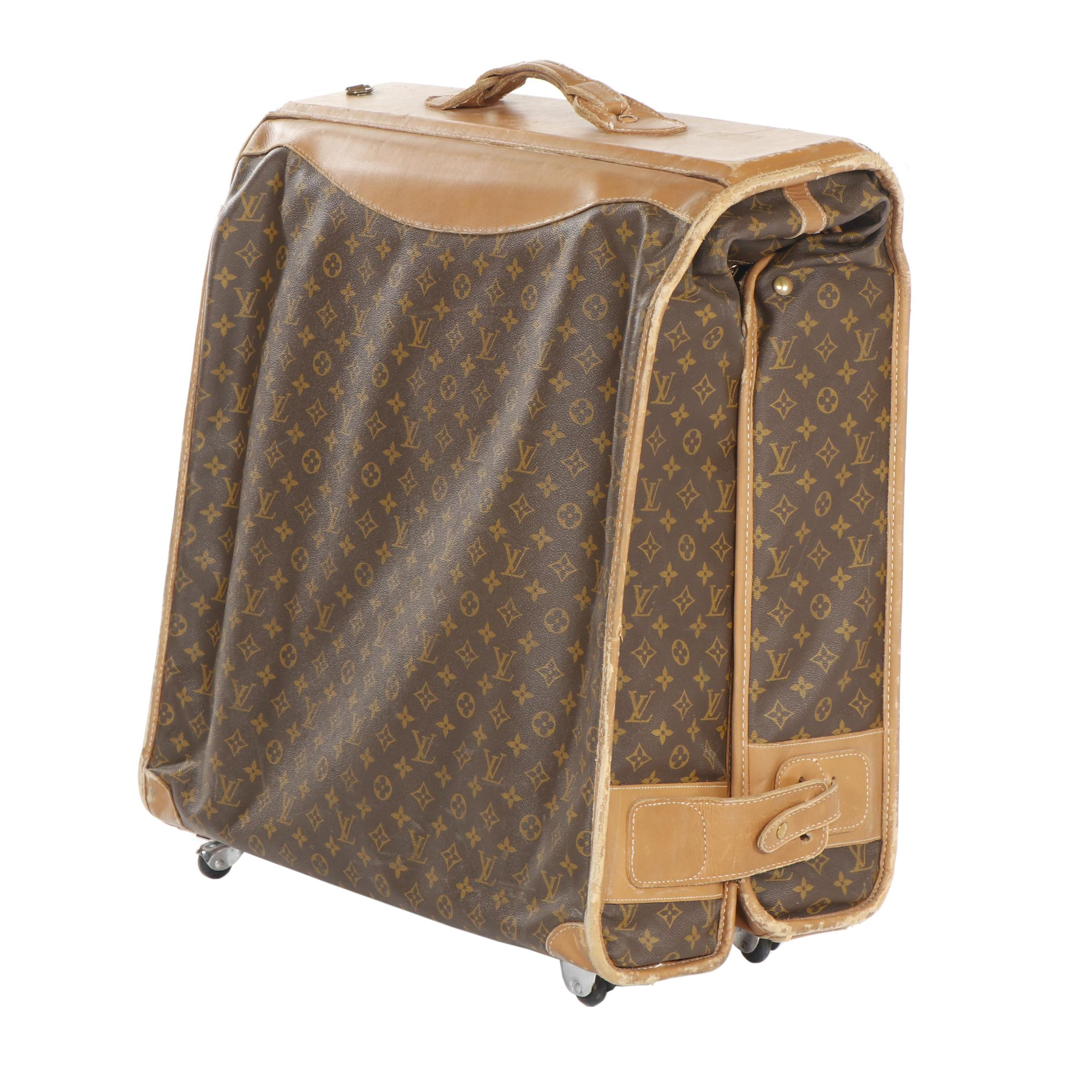 Louis Vuitton Manufactured by The French Co. Garment Bag, U.S.A