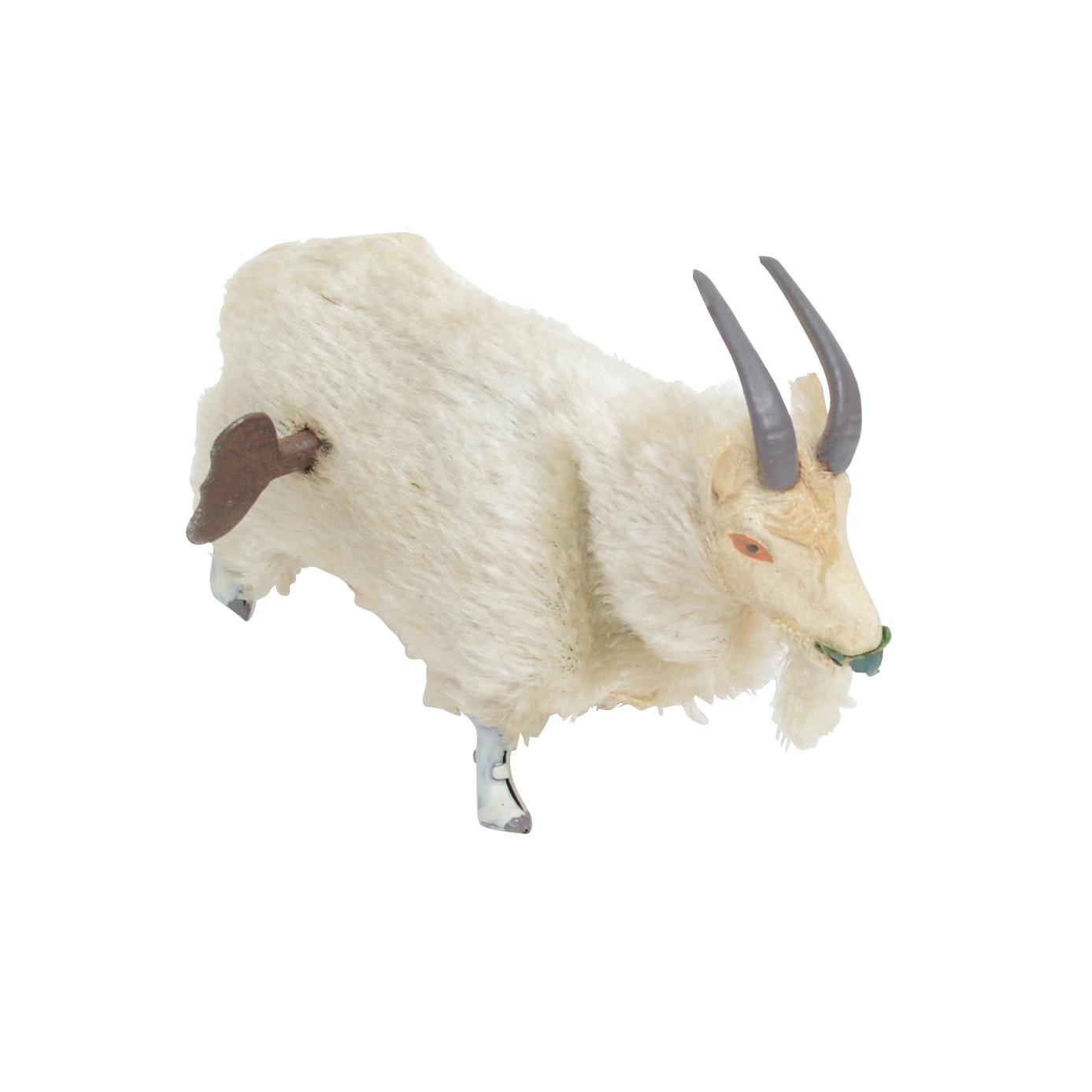 Mohair Wind-Up Goat Toy