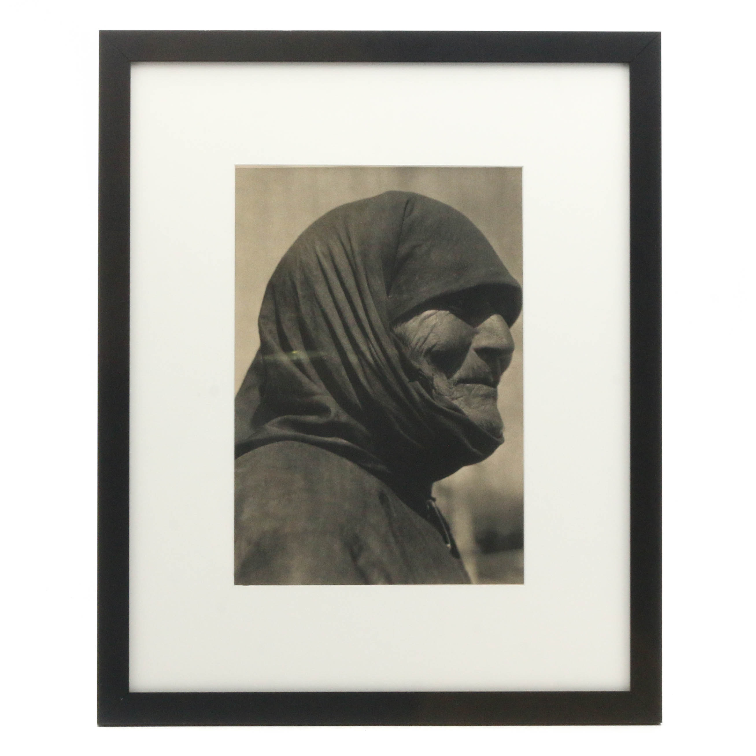 """Photogravure after Margaret Bourke-White """"Stalin's Great Aunt"""""""