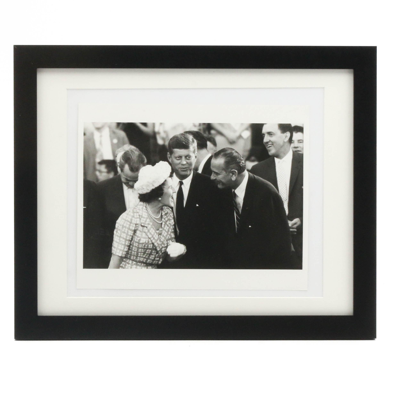 United Press International Silver Gelatin Print of John F. Kennedy