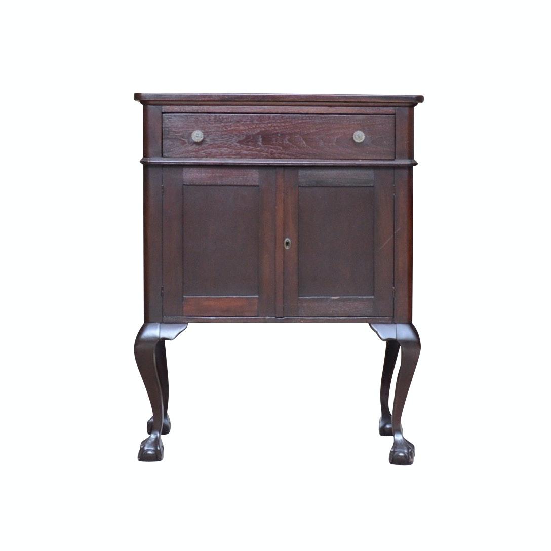 Centennial Era Colonial Revival Mahogany Cabinet