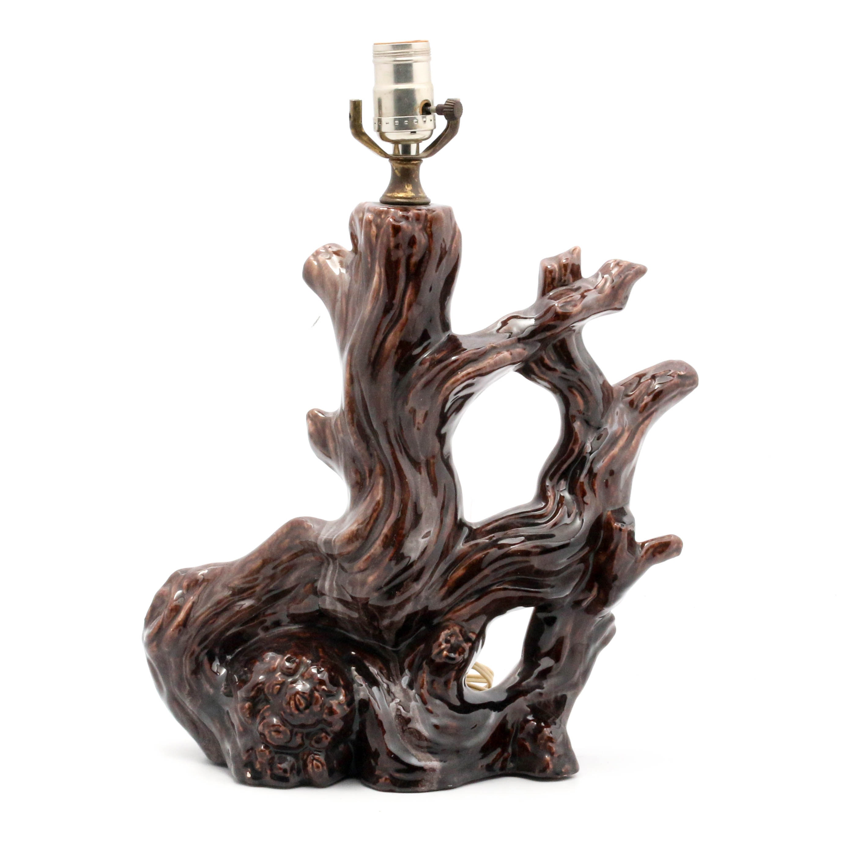 Gonder Figural Driftwood Table Lamp