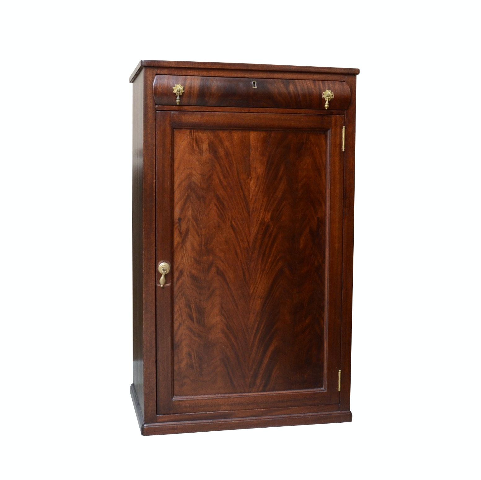 Empire Style Mahogany Document Cabinet, 1920s