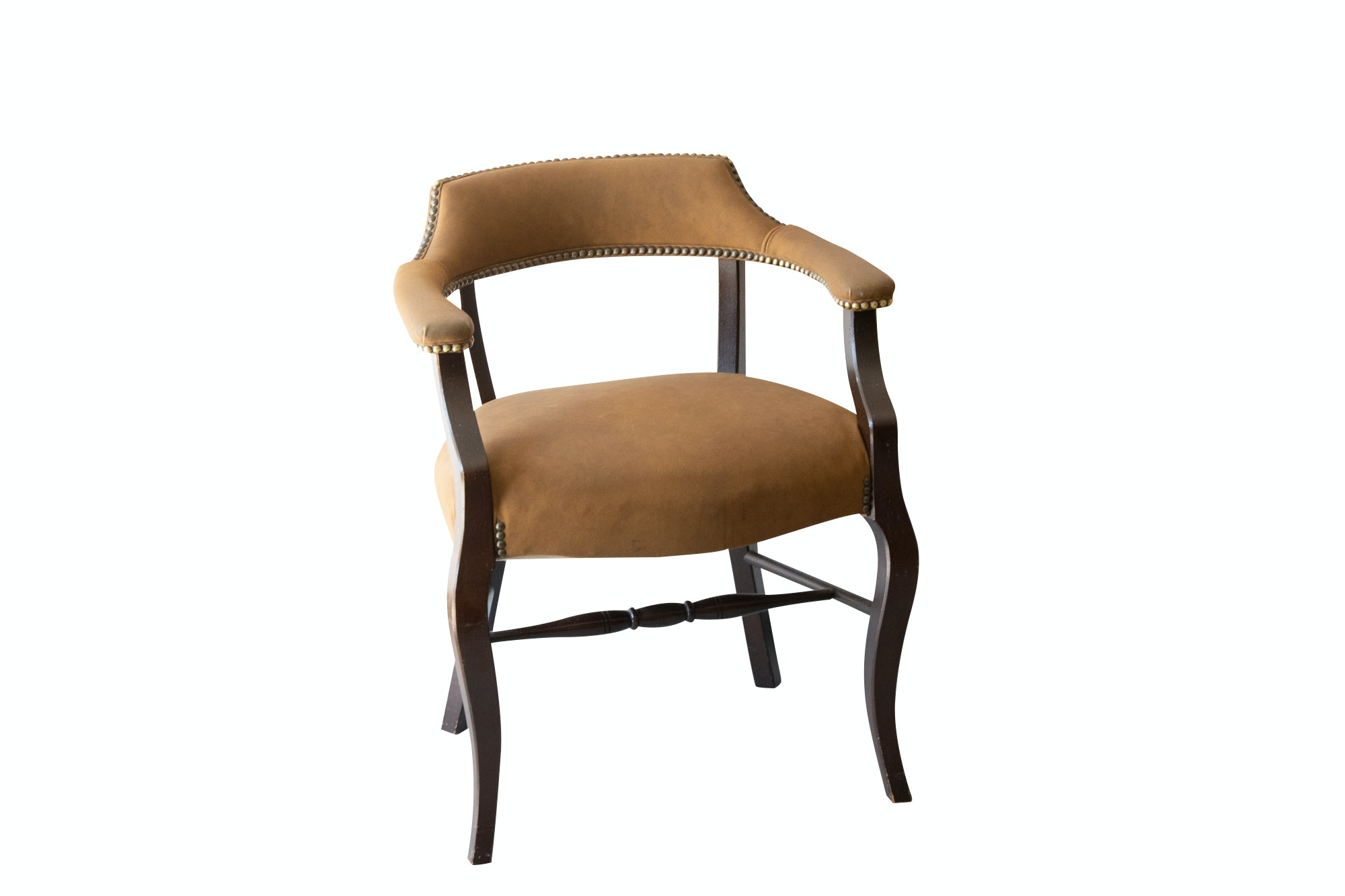 Barrel-Back Armchair