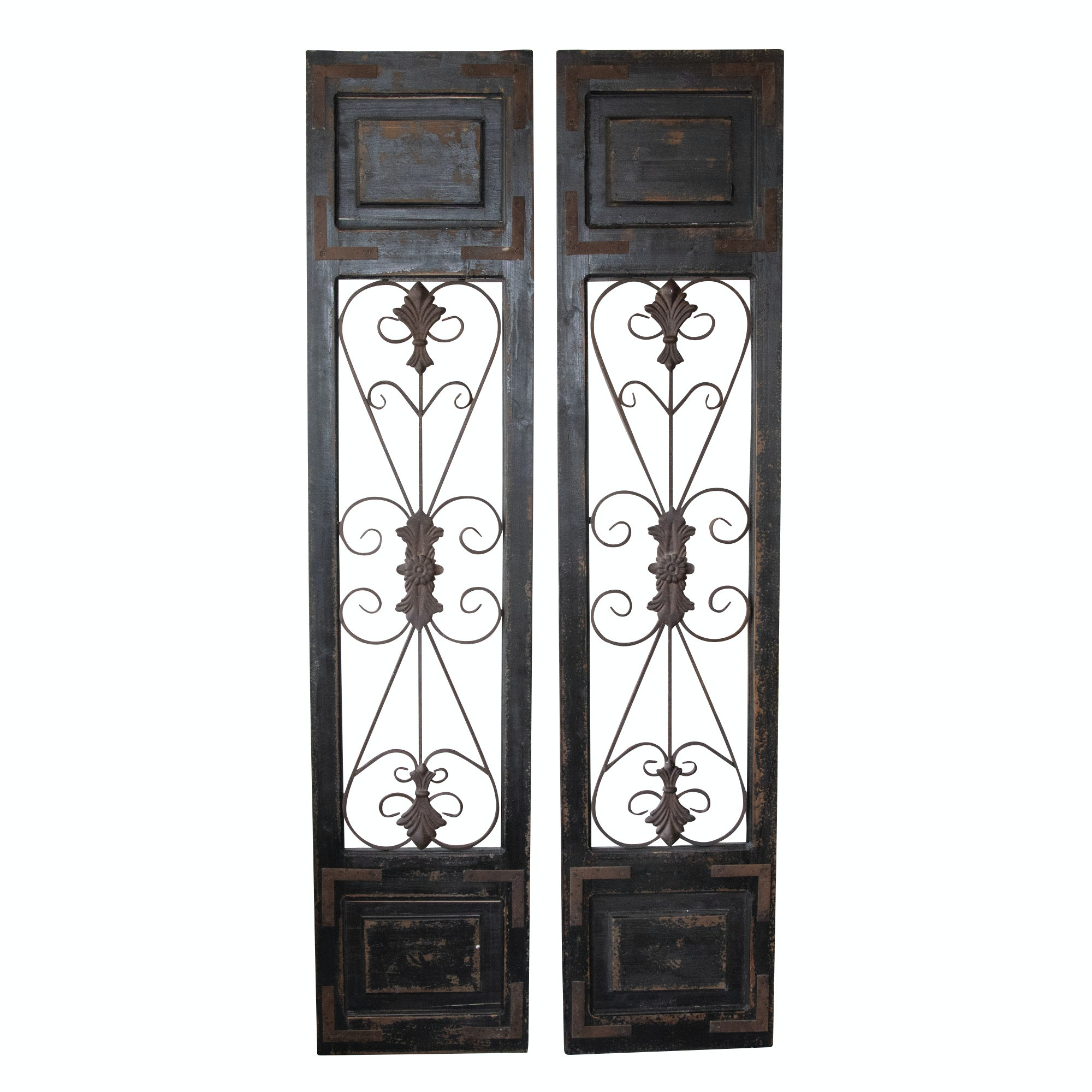Architectural Salvage French Door Wall Panels