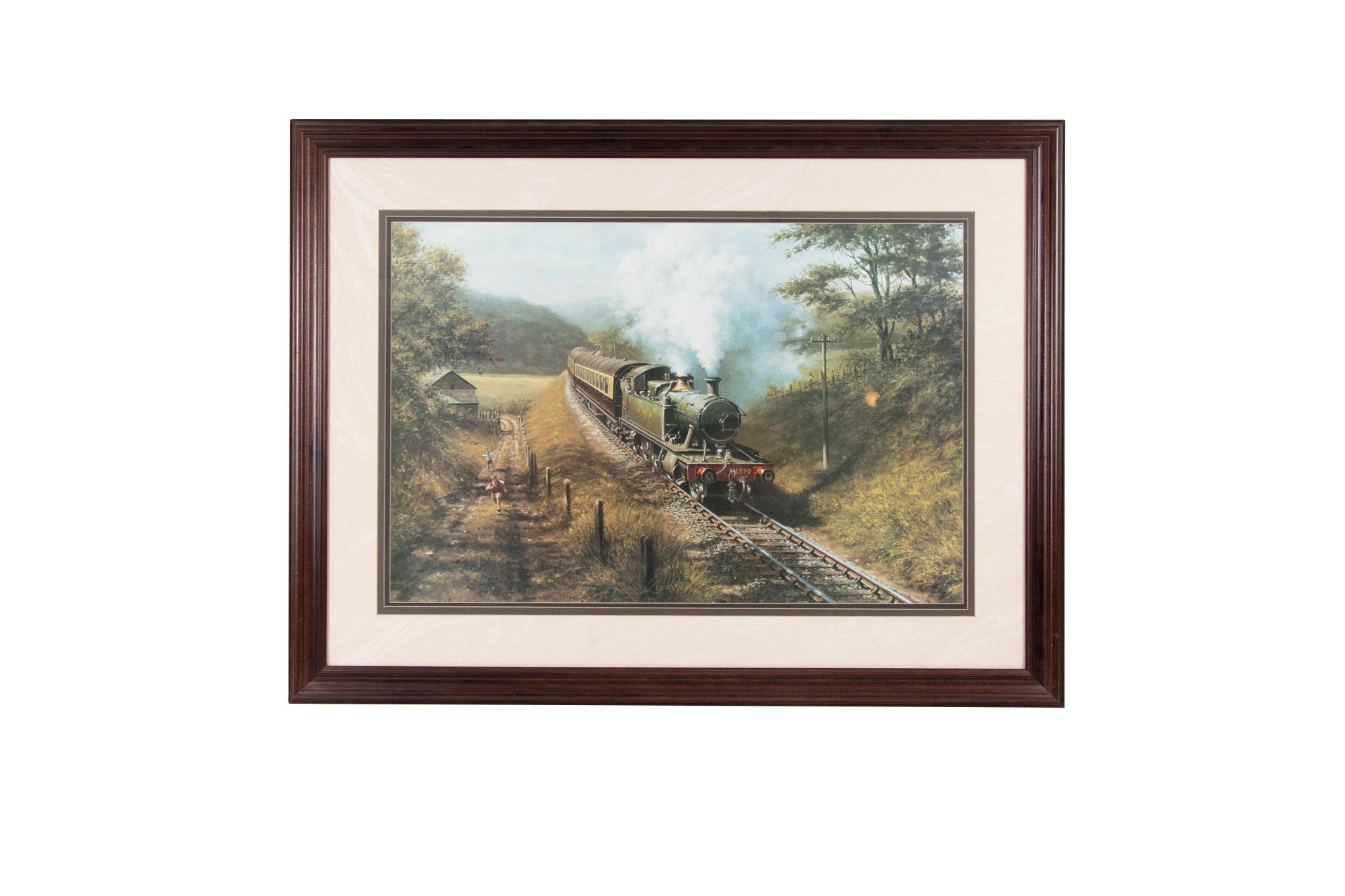 Landscape Offset Lithograph Print