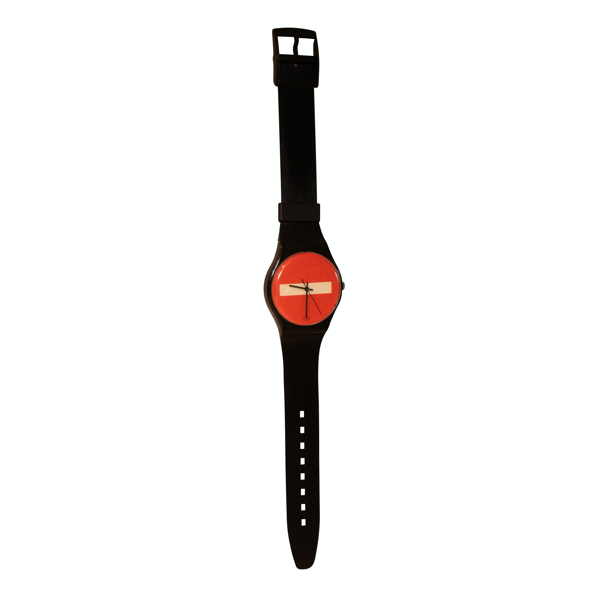 Swatch Wall Hanging Novelty Wristwatch Wall Clock