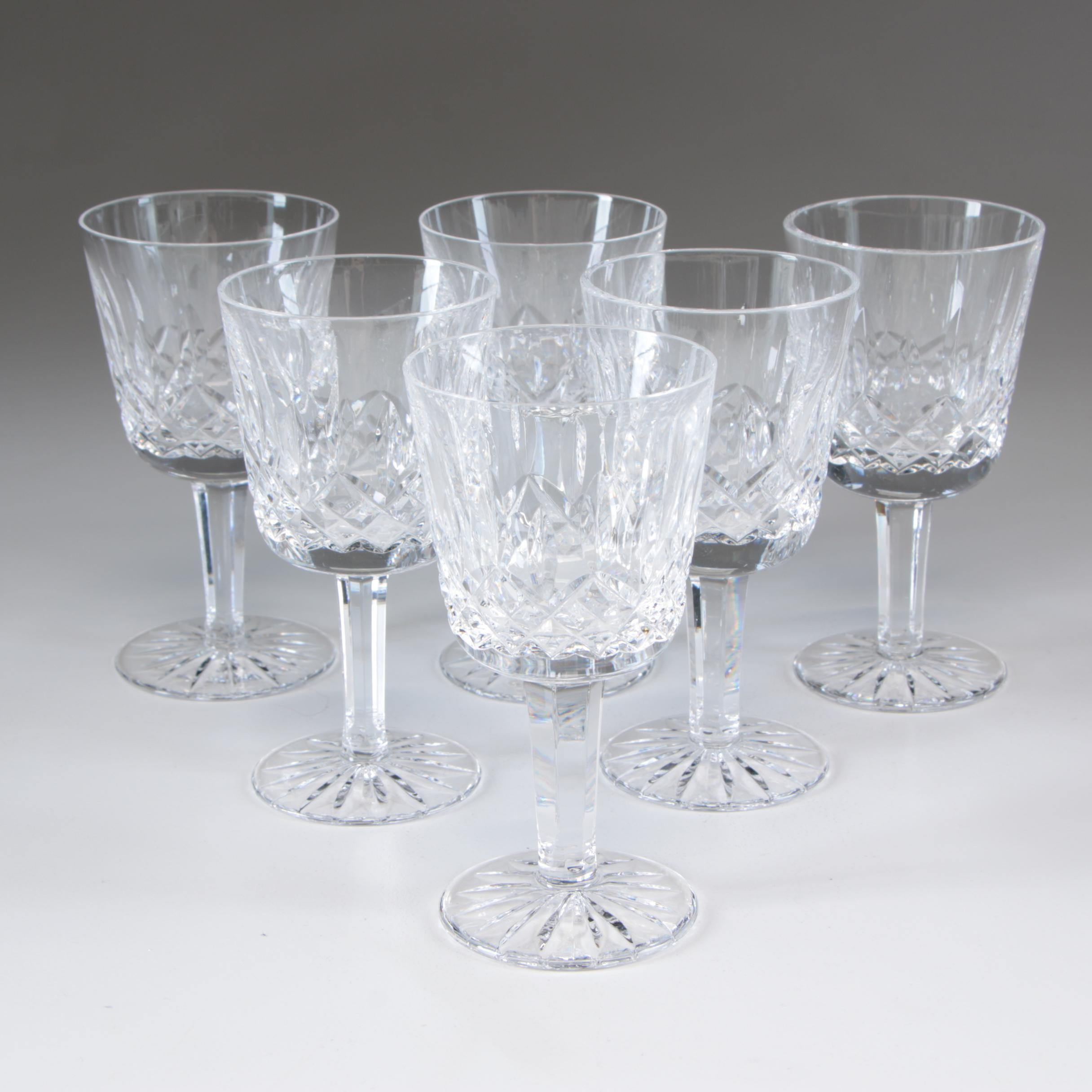 "Waterford Crystal ""Lismore"" Port Wine Glasses"