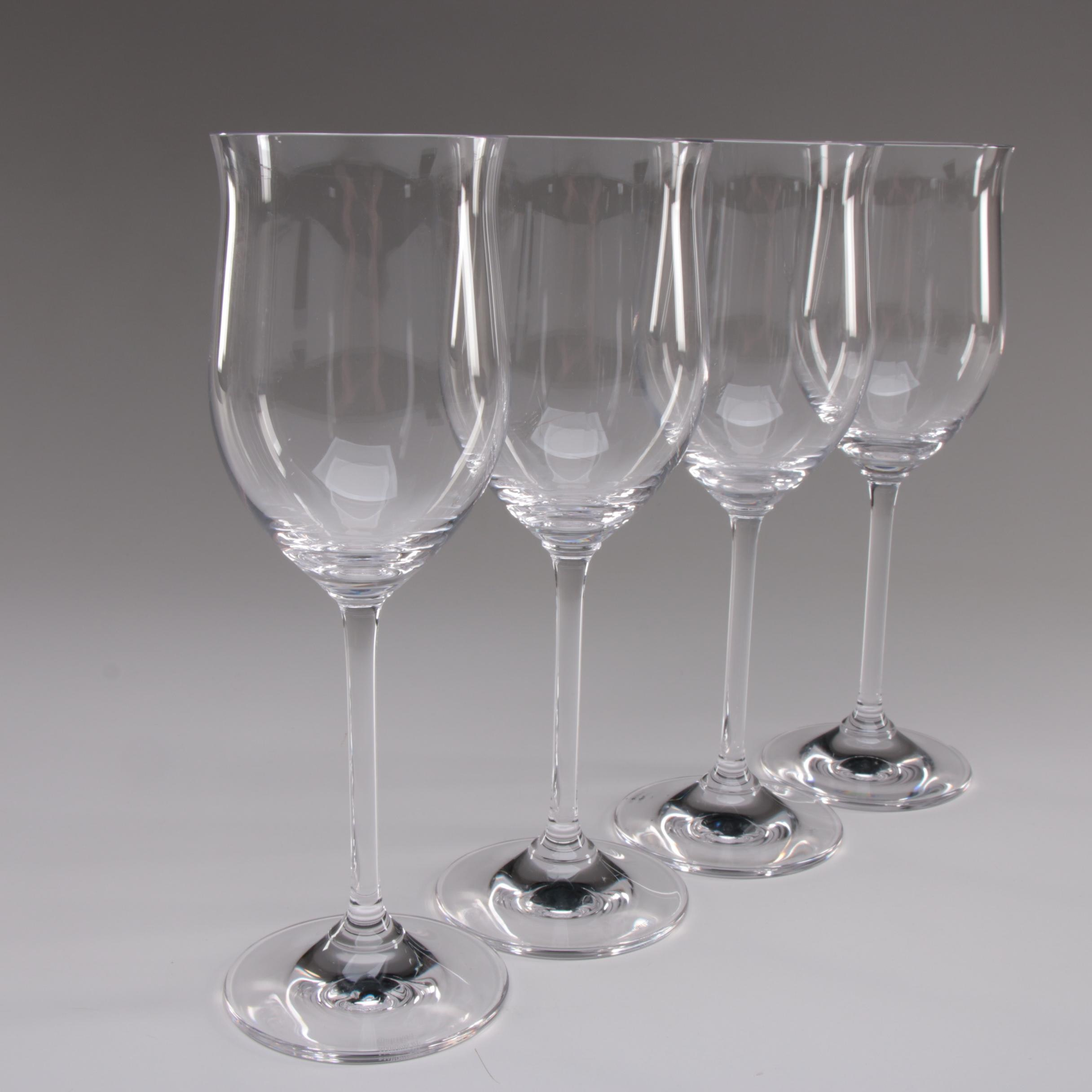 "Marquis by Waterford ""Vintage"" White Wine Glasses"