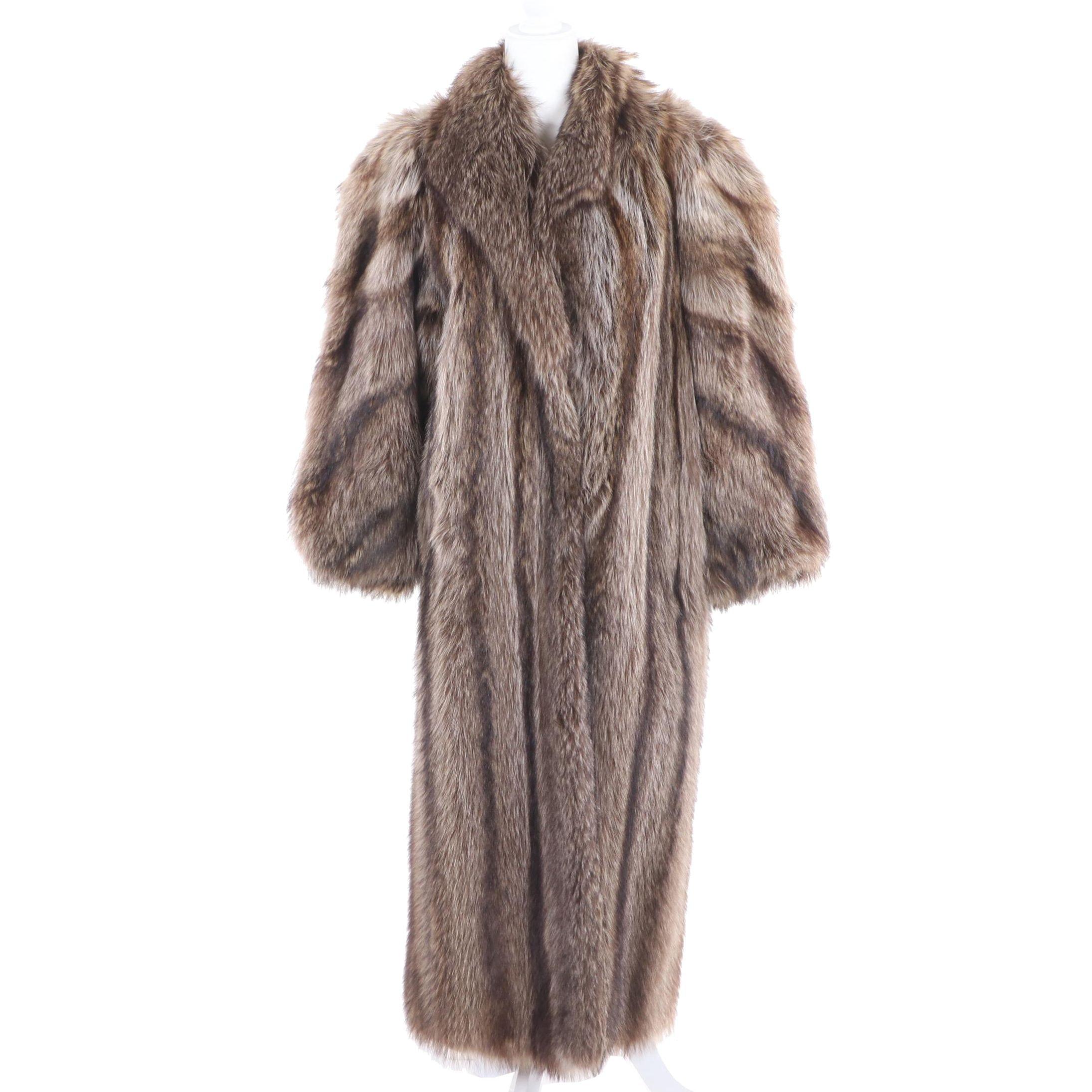 Women's Raccoon Fur Coat from Michael's Furs