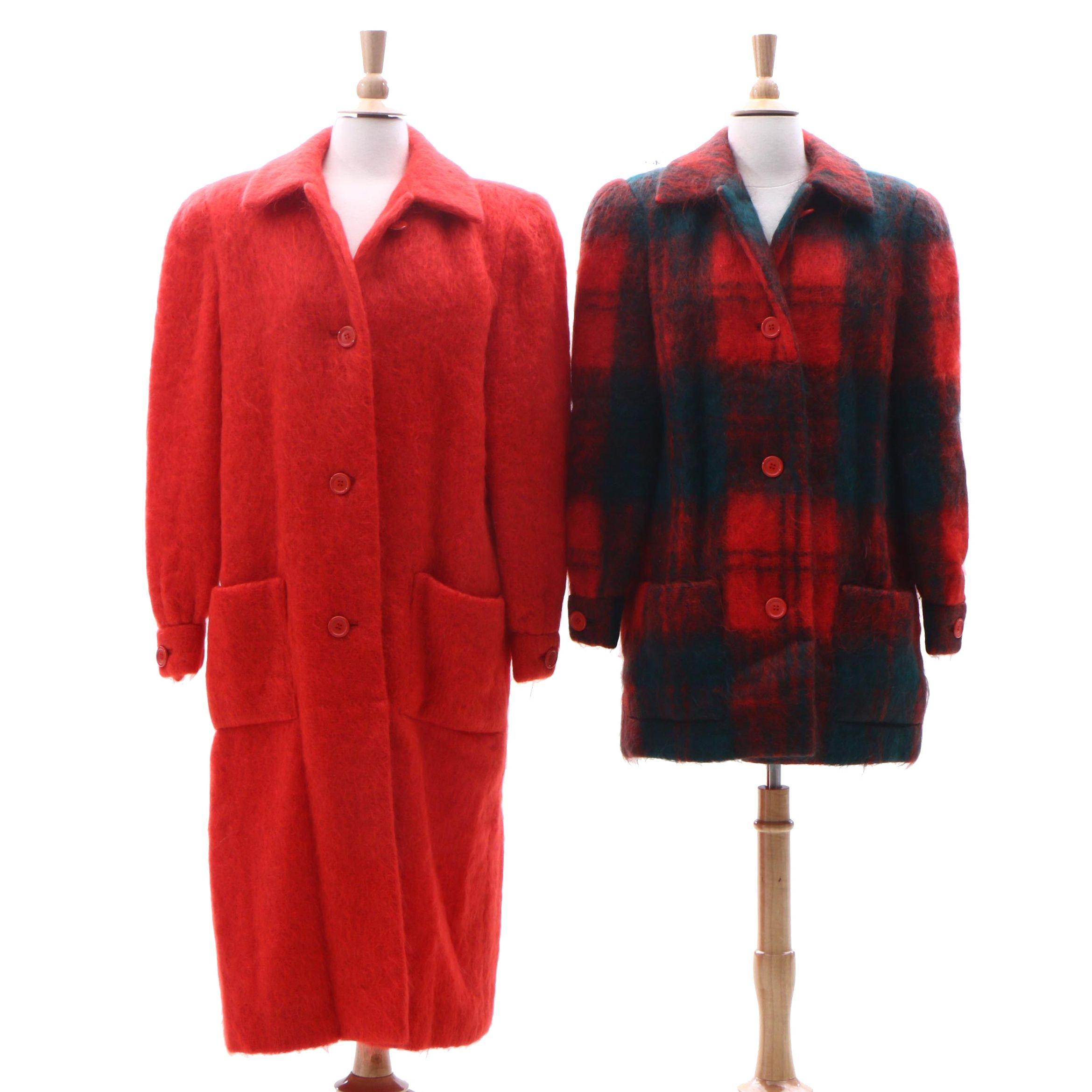Helga Mohair Coats, 1980s Vintage