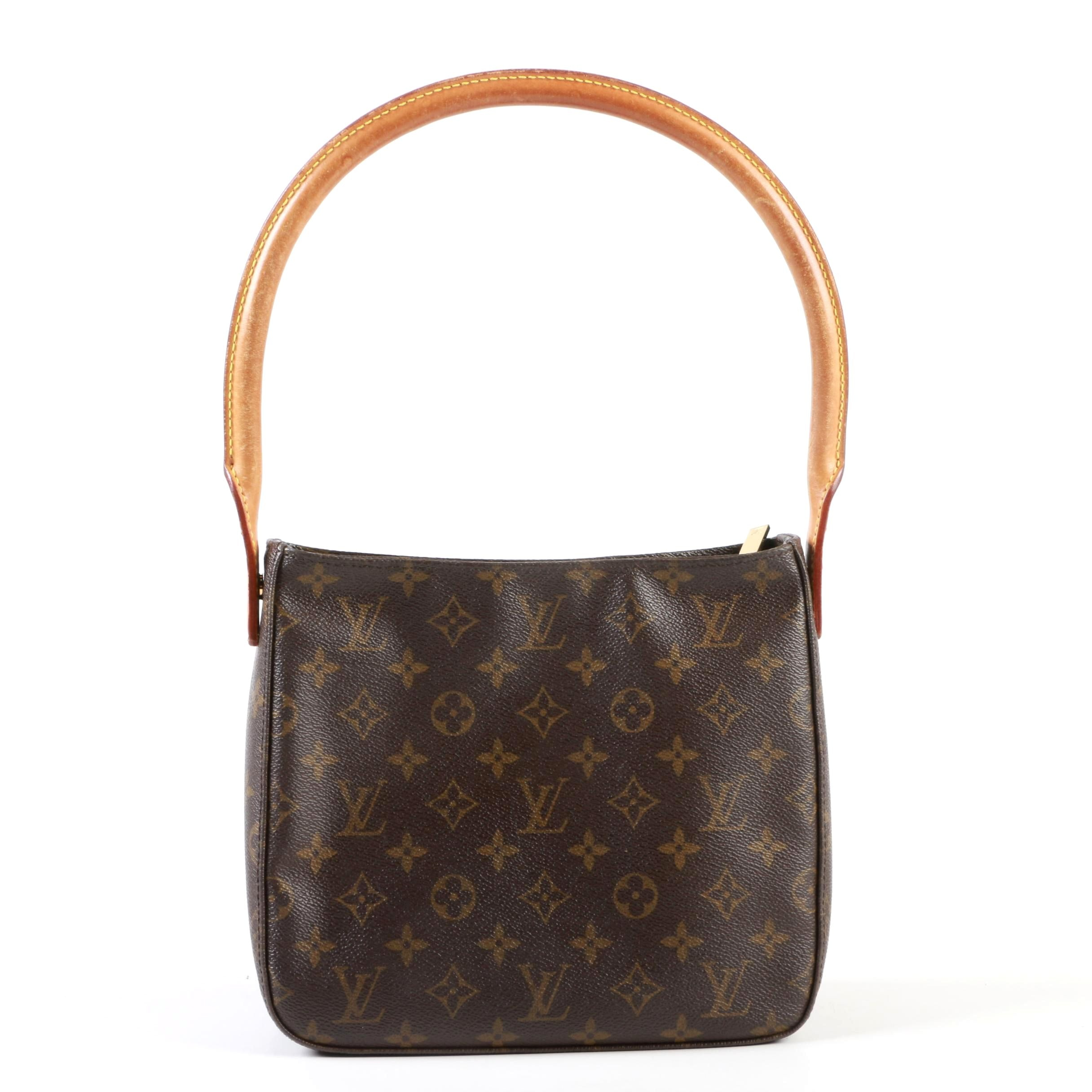 Louis Vuitton Paris Looping MM Handbag in Monogram Canvas
