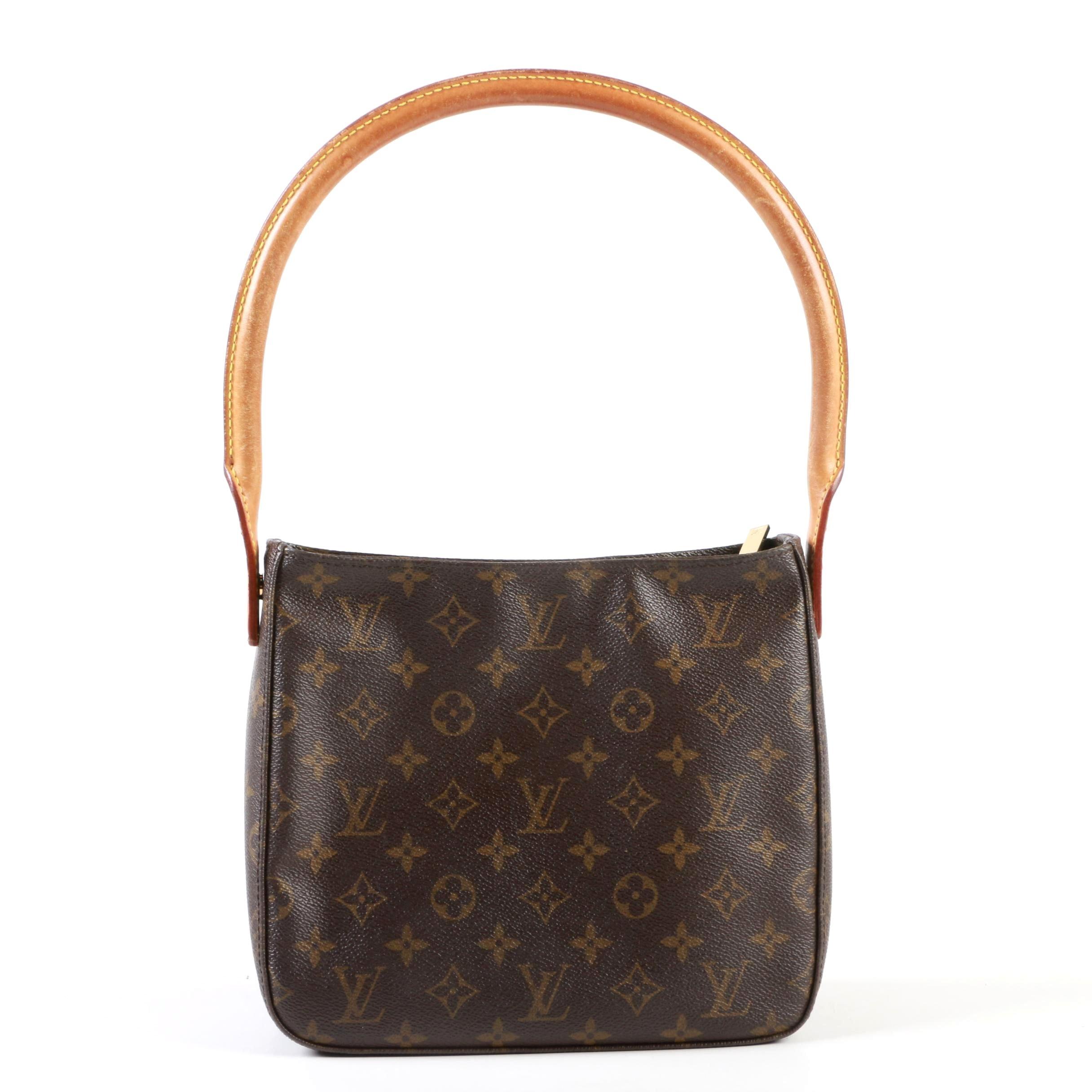Louis Vuitton Paris Looping MM Handbag in Monogram Canvas