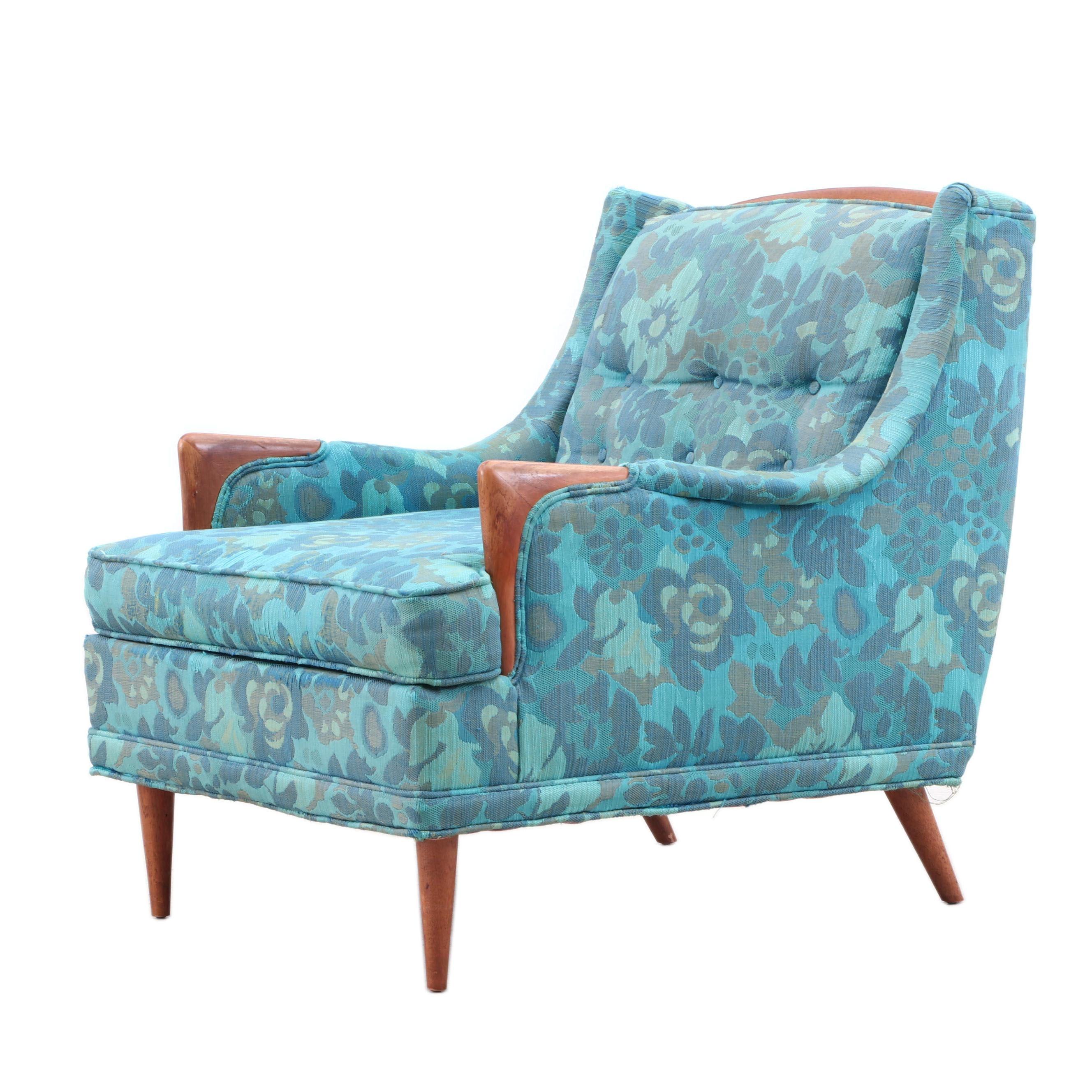 Avant Design for Kroehler Upholstered Arm Chair, Mid 20th Century