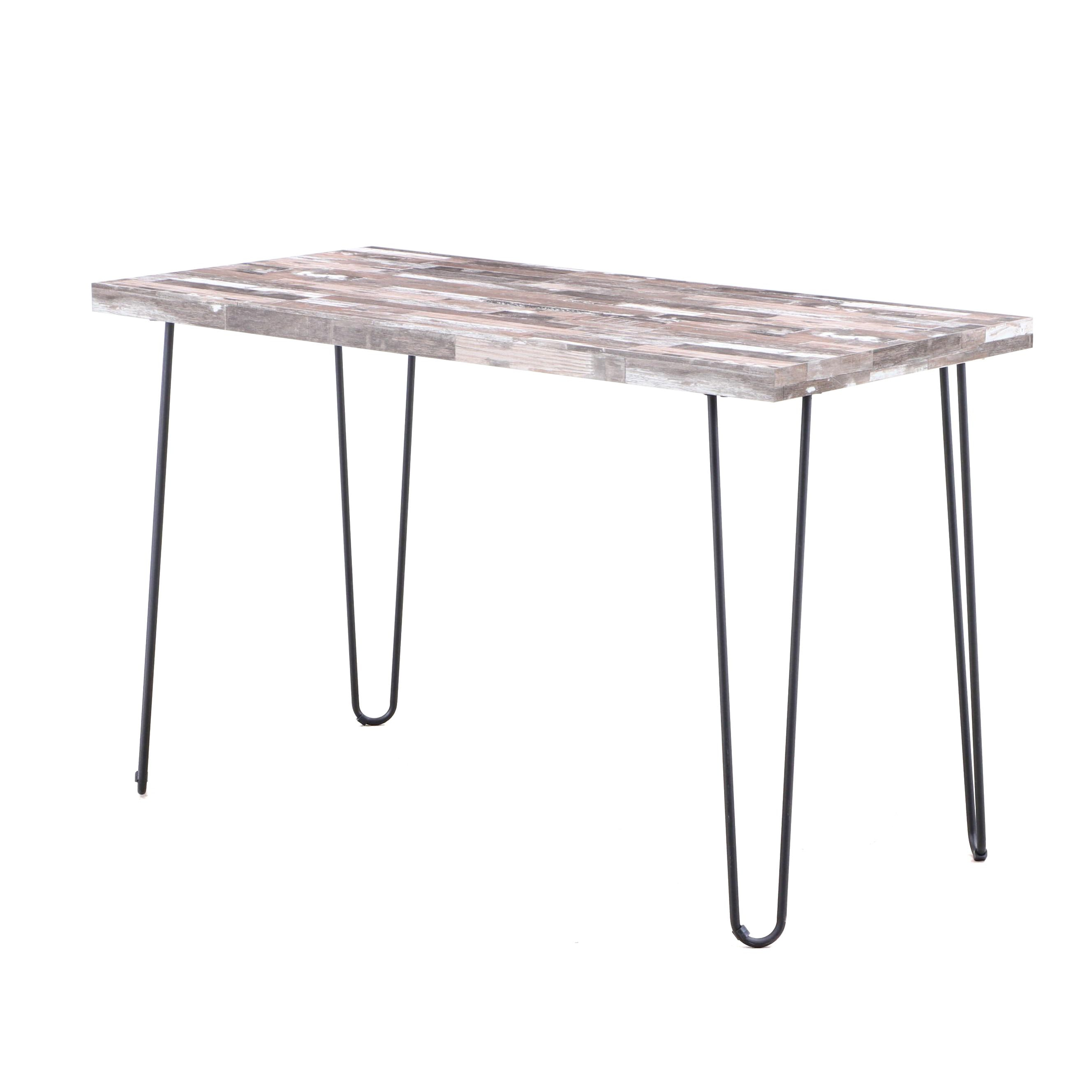 Coaster Reclaimed Wood Accent Table, Contemporary
