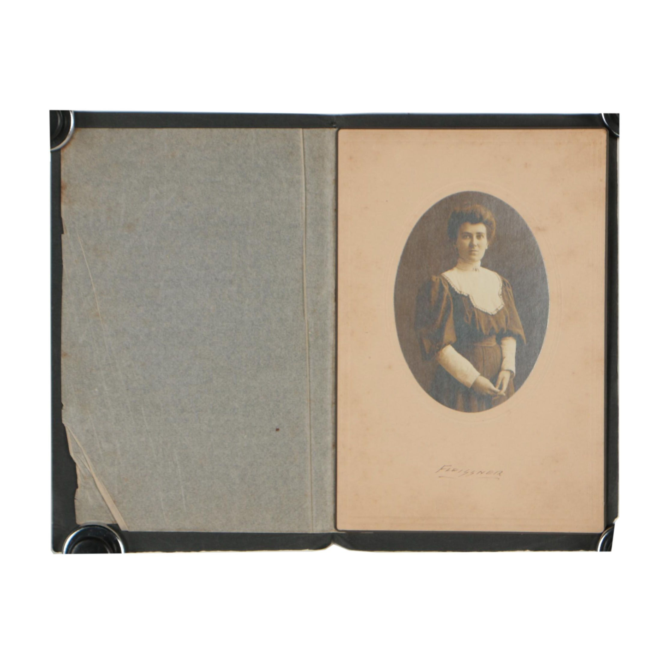 "Late 19th Century Silver Gelatin Photograph ""Fleissner"""