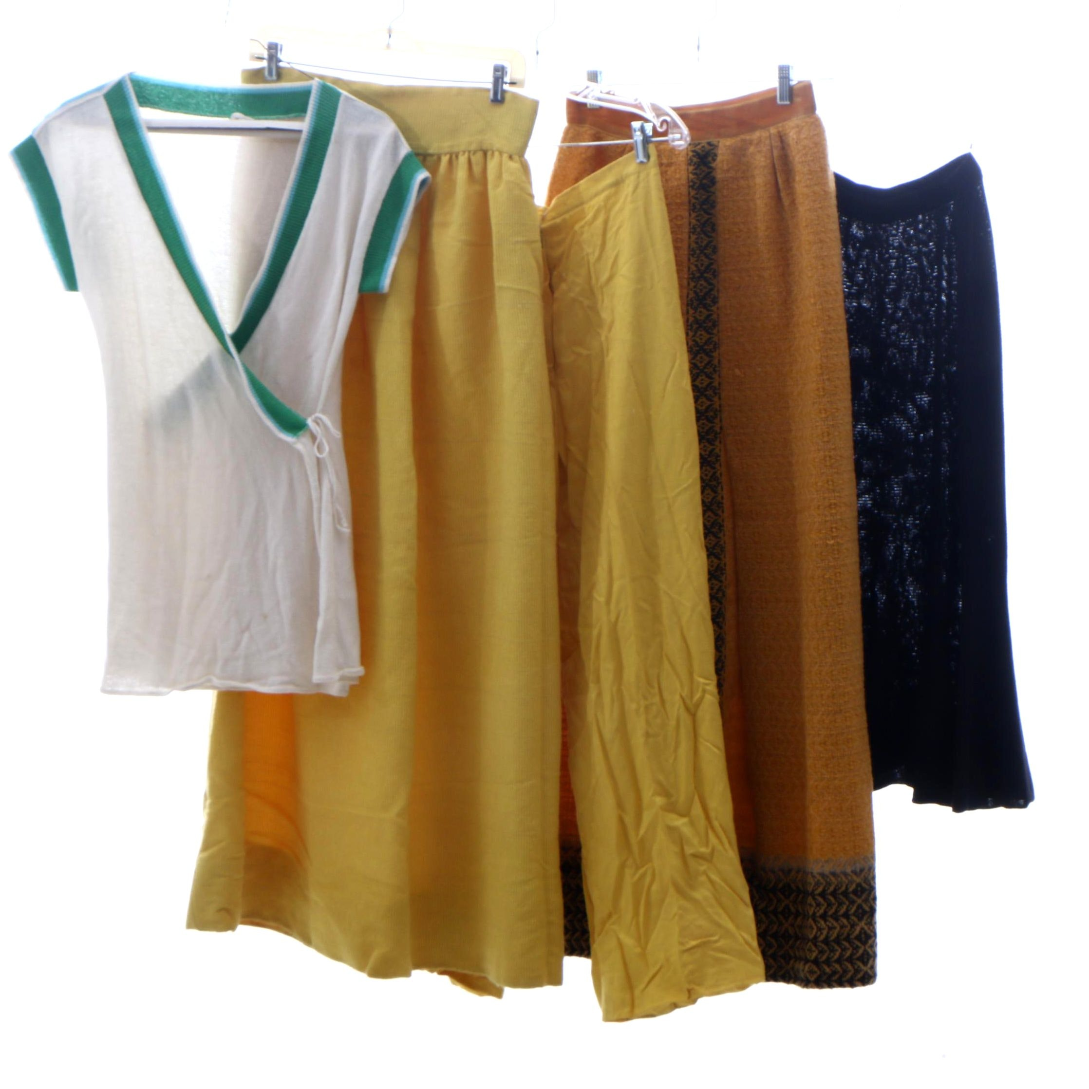 J. Tiktiner Yellow Trousers, Countess Ebba von Eckermann, and Other Separates