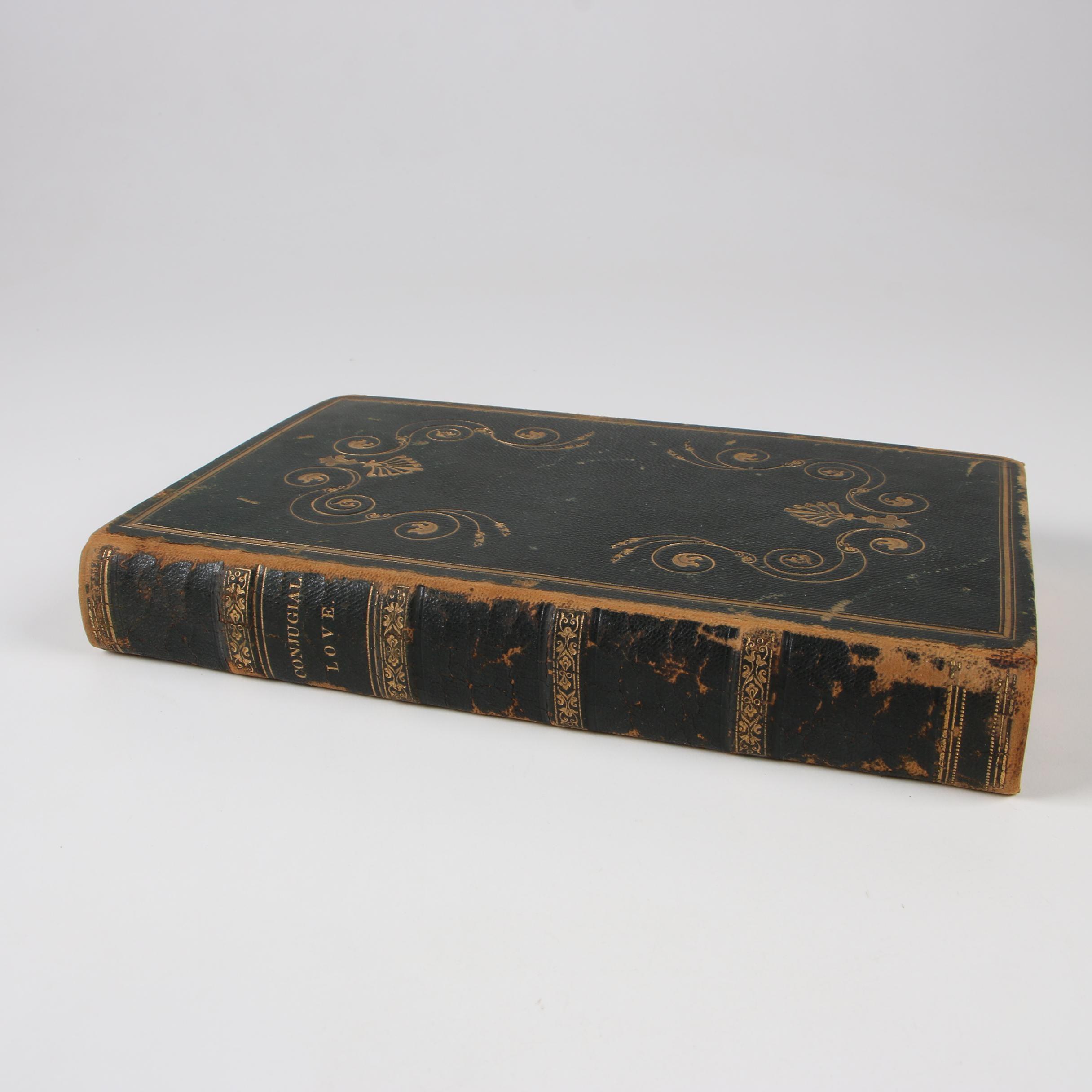 """""""Delights of Wisdom Concerning Conjugial Love"""" by Emanuel Swedenborg, 1833"""
