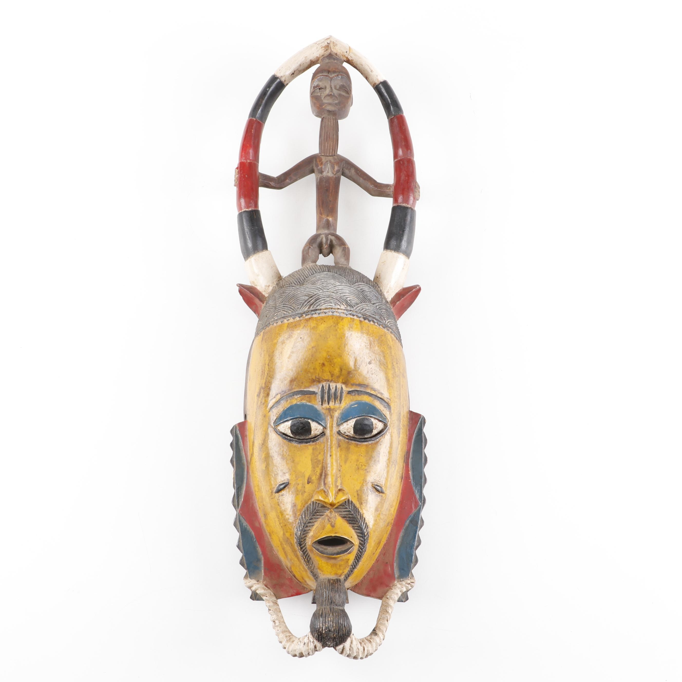 West African Wooden Mask