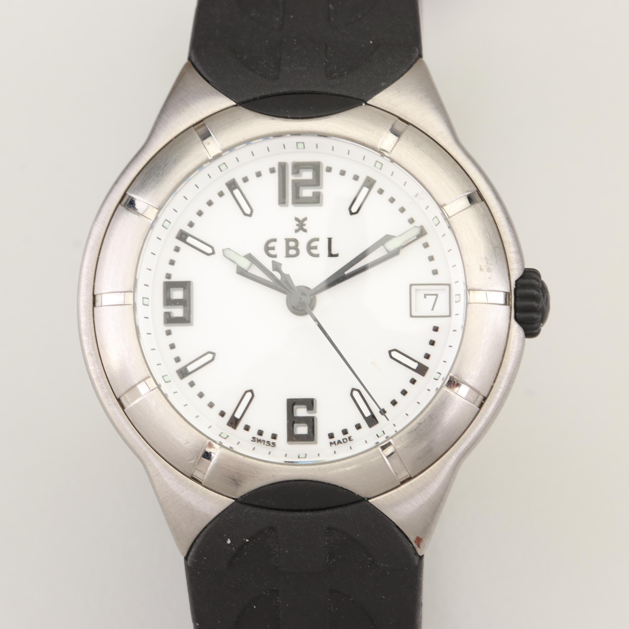 Ebel Type E Stainless Steel Wristwatch