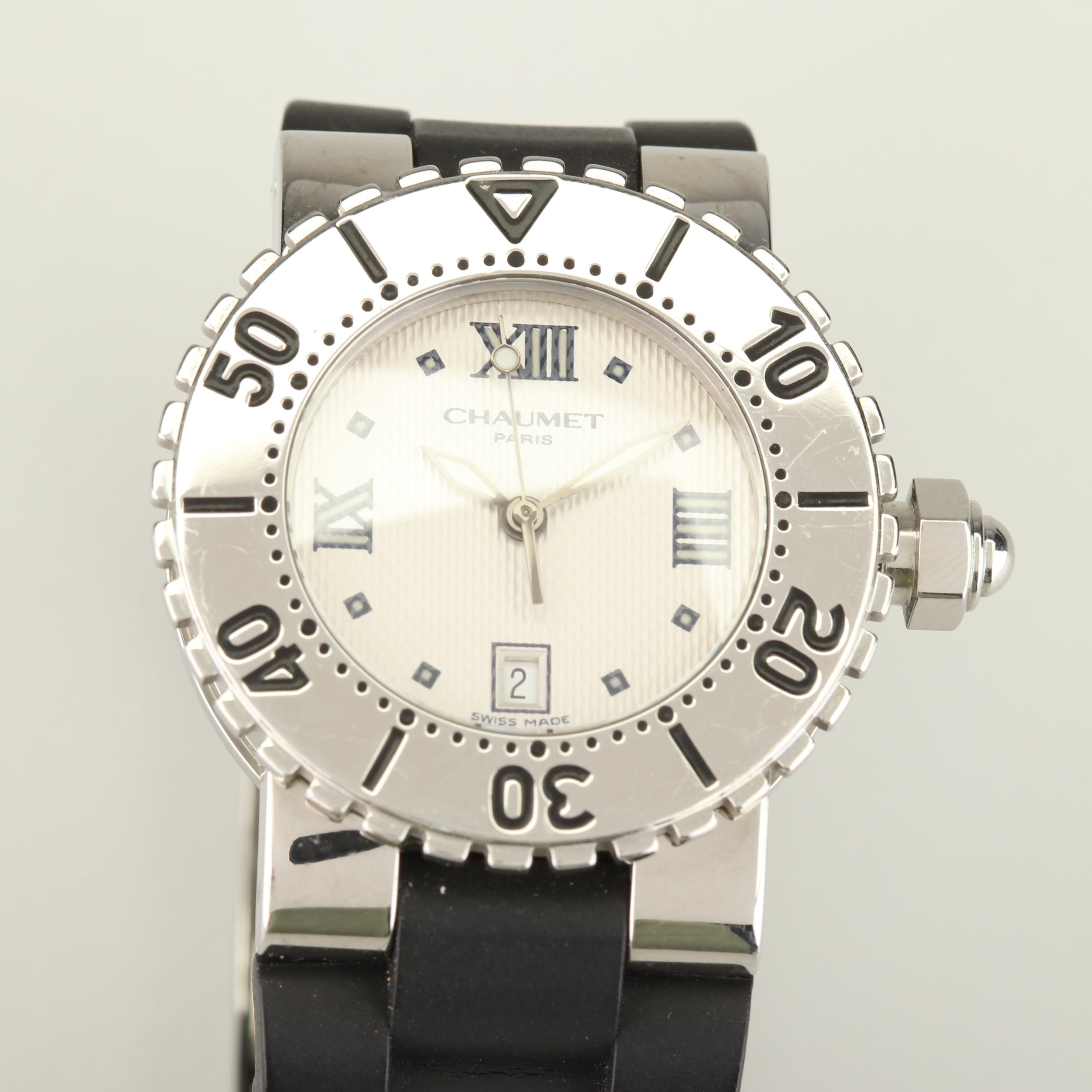Chaumet Paris Stainless Steel Wristwatch