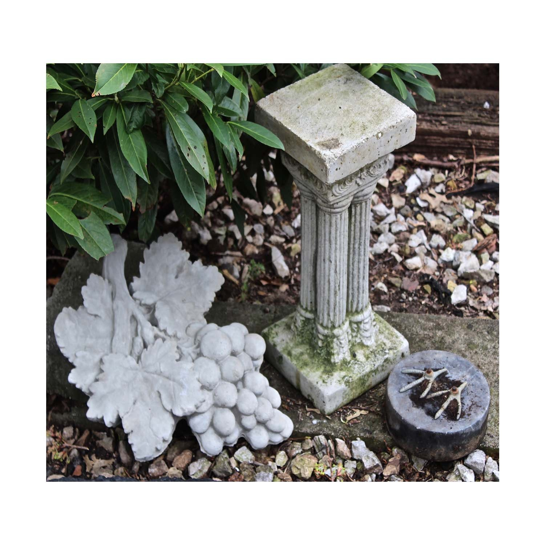 Vintage Concrete Garden Decor