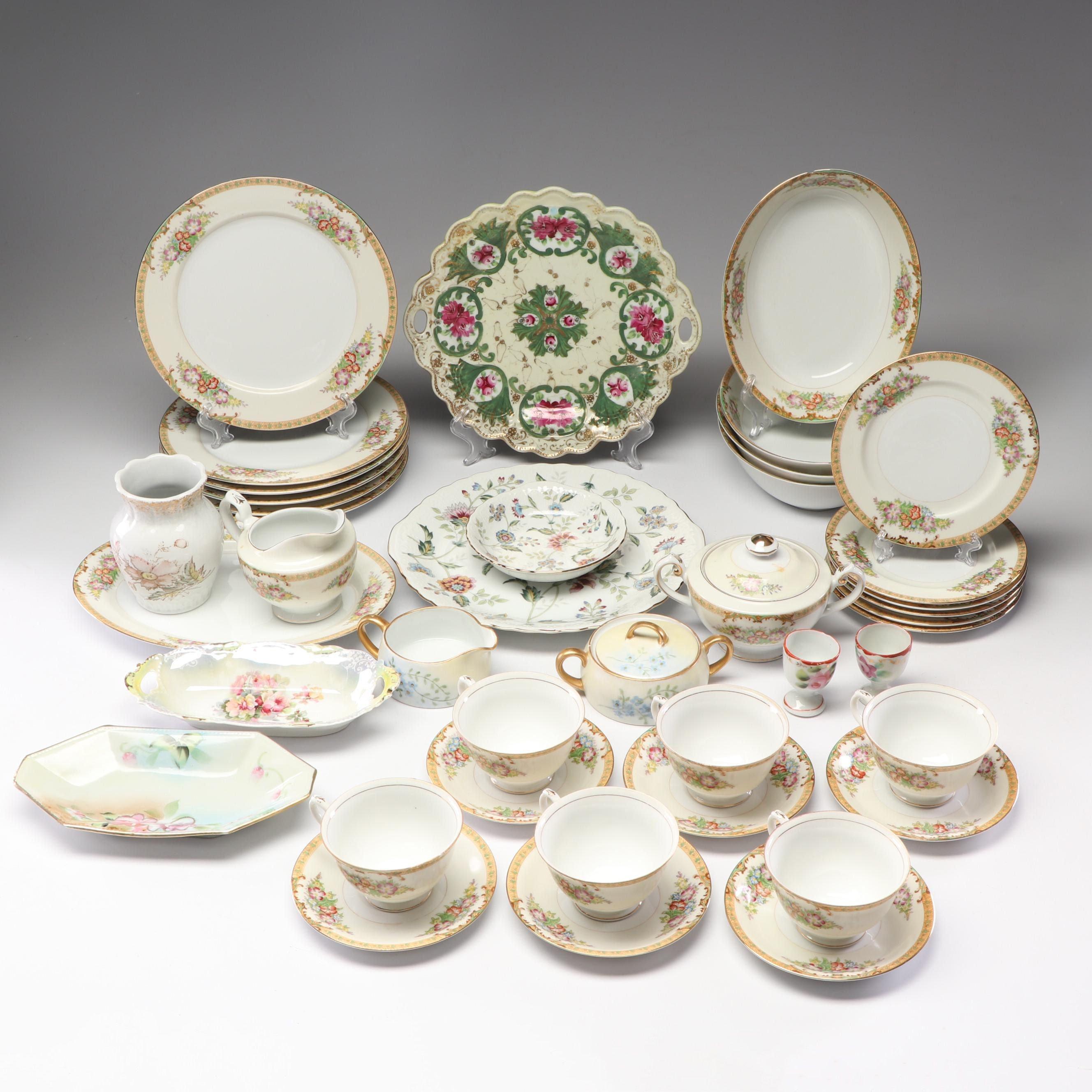 German, Chinese and Japanese Dinnerware with Sadek and Diamond